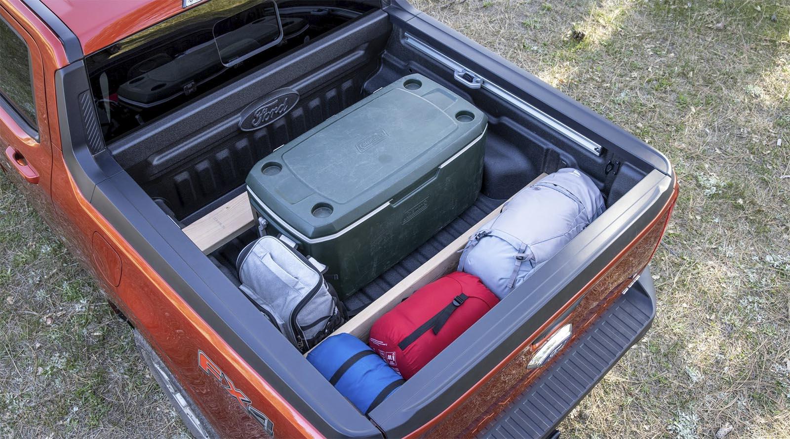 2022 Ford Maverick truck bed