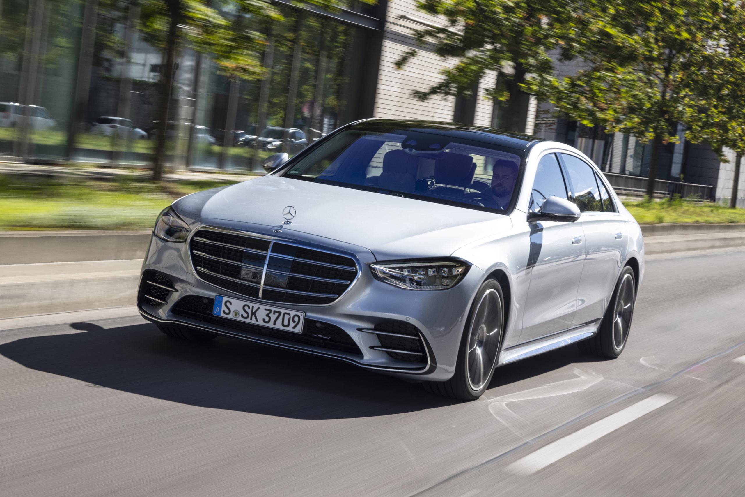 full-size luxury sedan - 2022 Mercedes-Benz S-Class