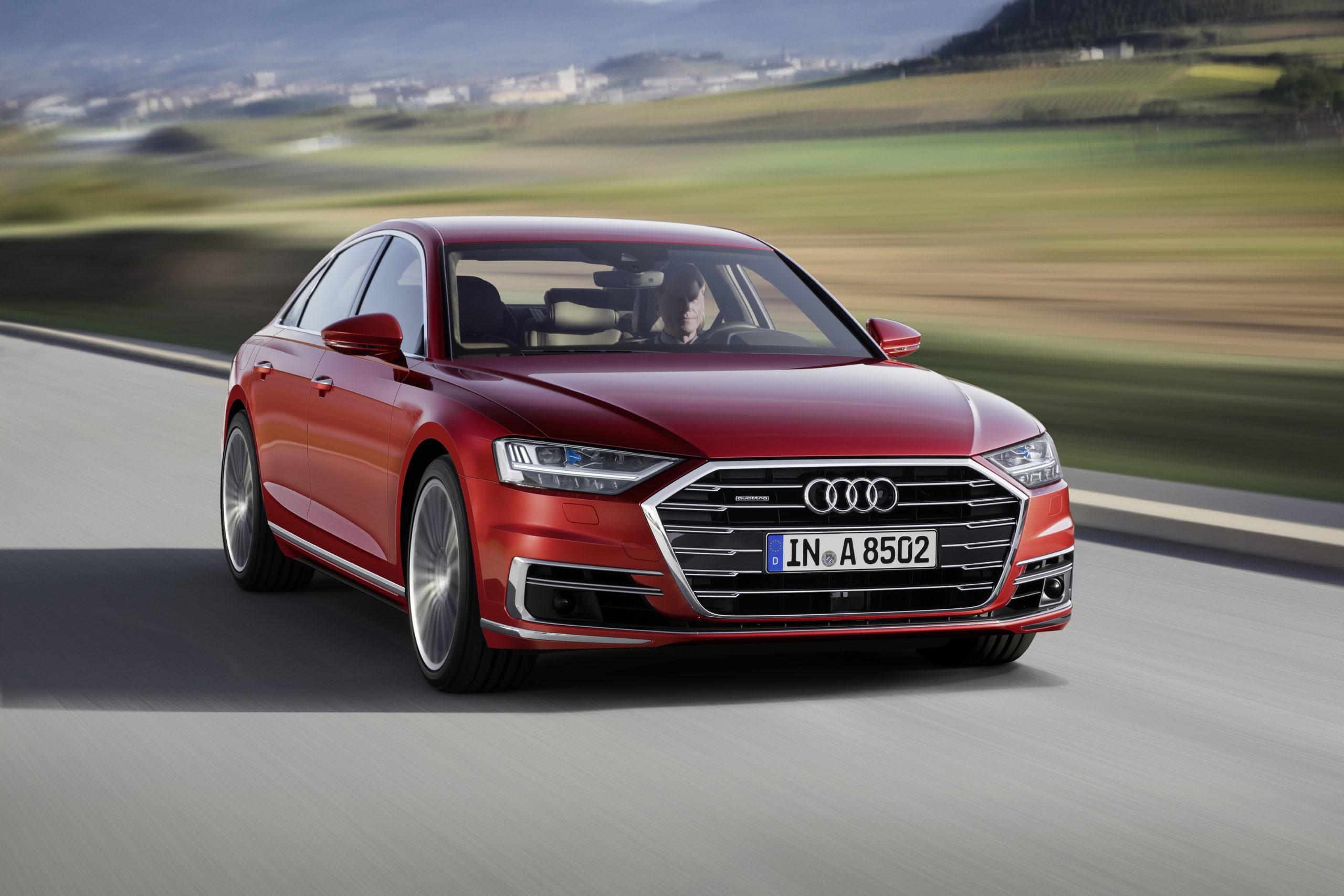 full-size luxury sedans - 2022 Audi A8