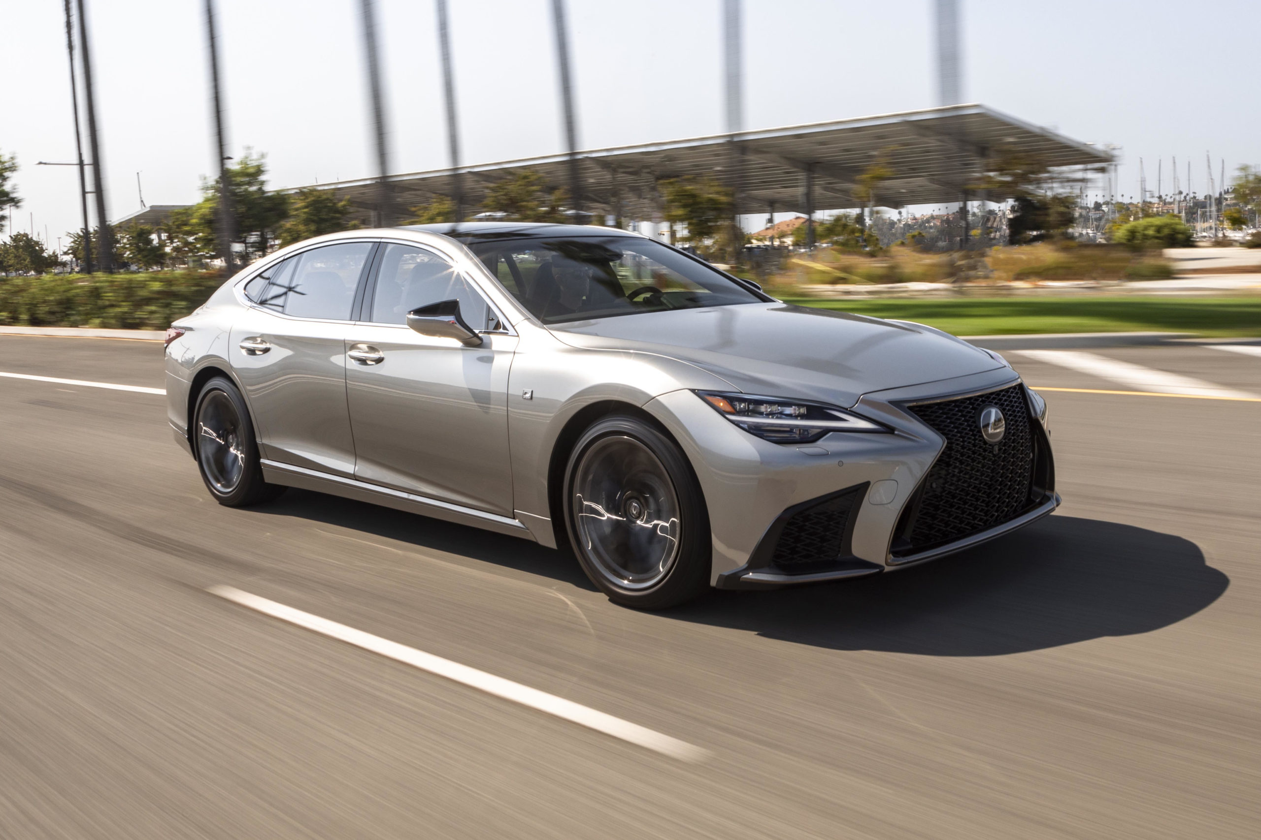 full-size luxury sedans - Lexus LS