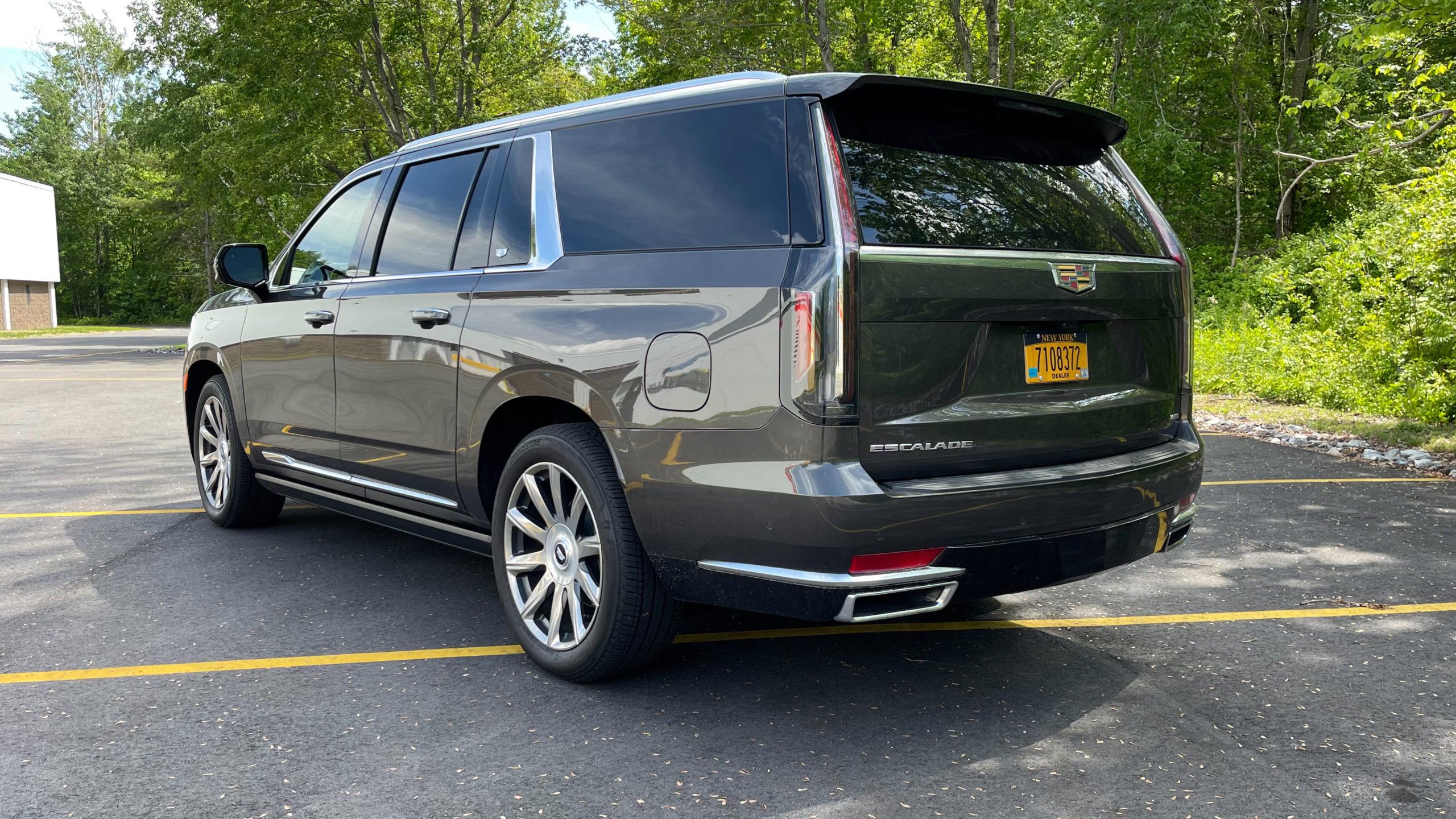 2021 Cadillac Escalade ESV review