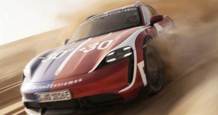 Porsche Drive2Extremes Taycan Turbo Cross Turismo