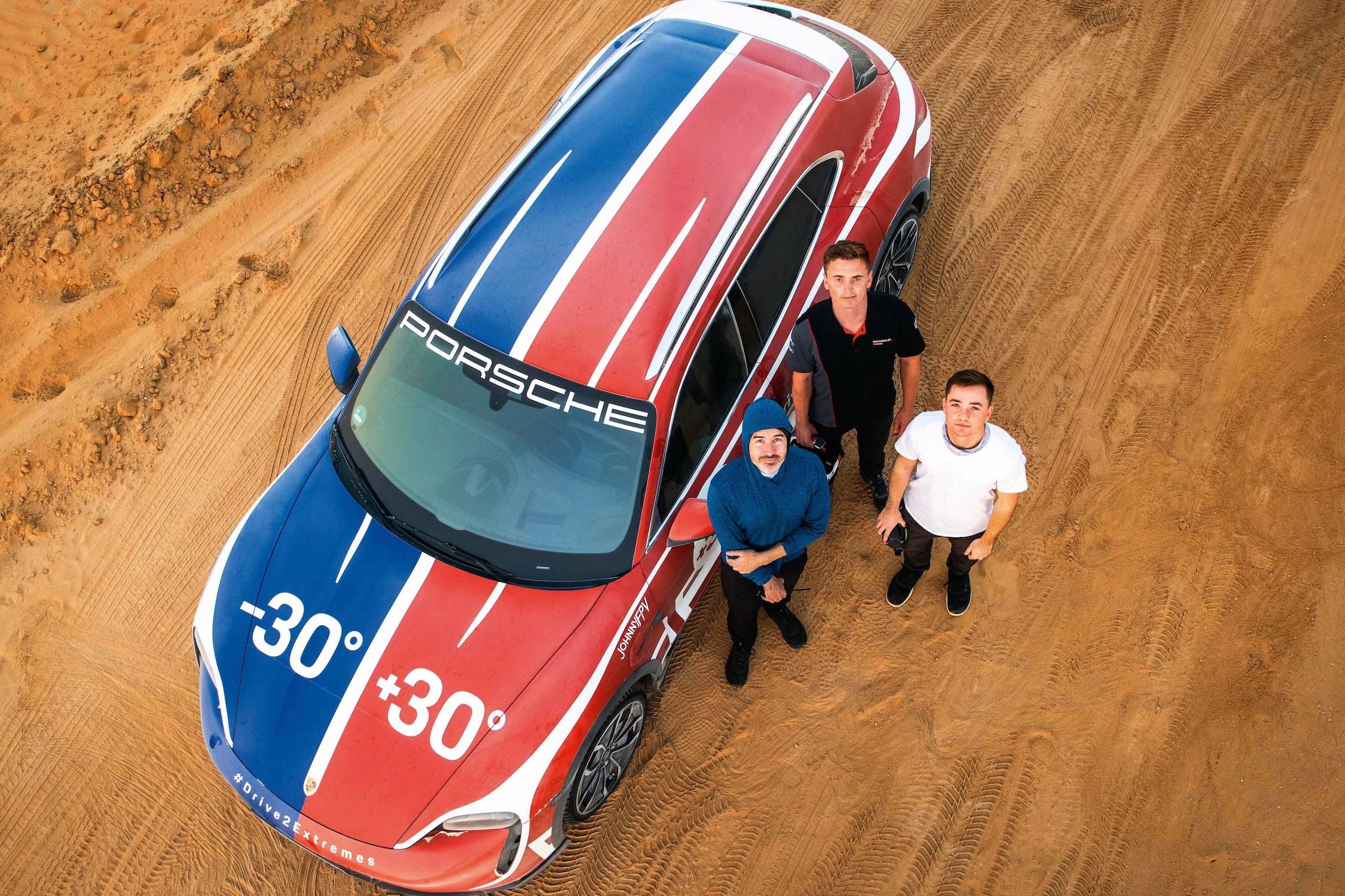 Porsche Drive2Extremes Crew
