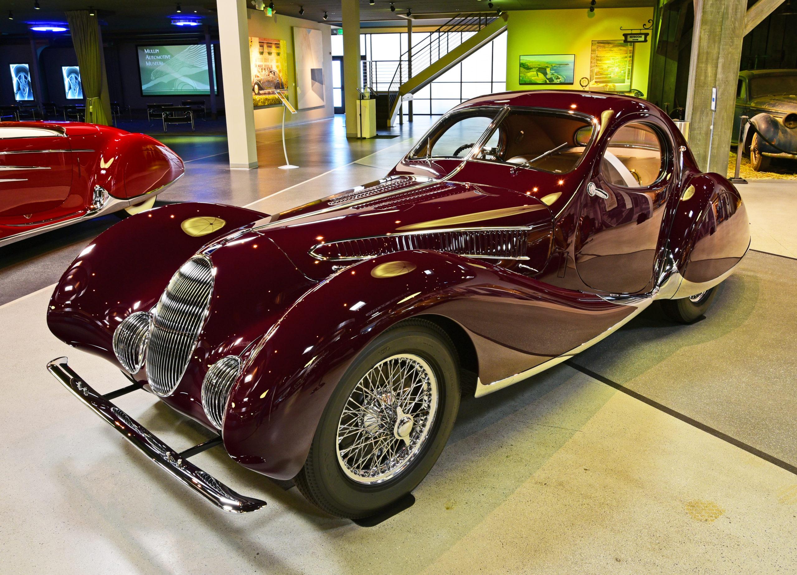 Mullin Automotive Museum 1937 Talbot-Lago Type 150-C-S