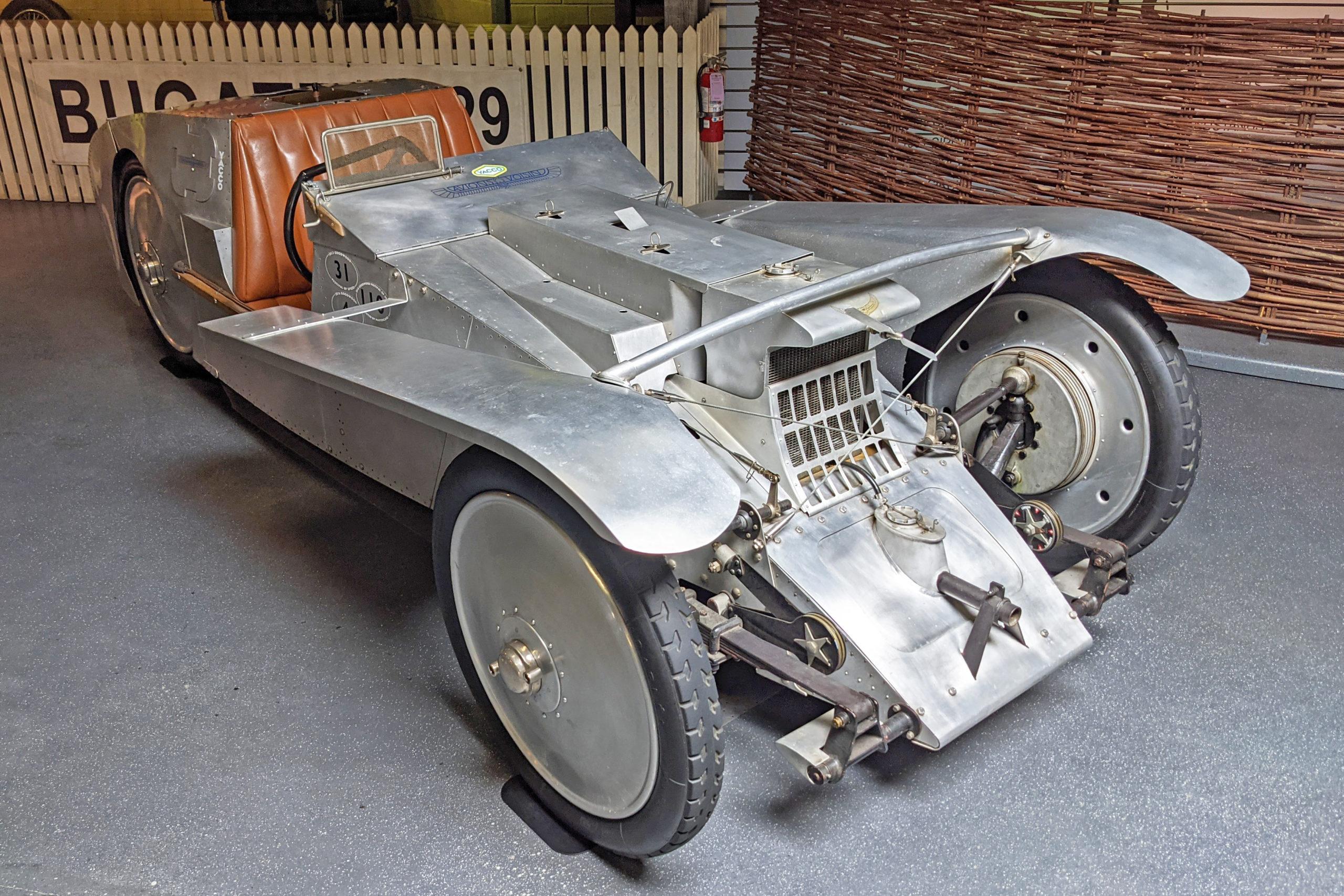 Mullin Automotive Museum - Voisin's 1923 Type C6