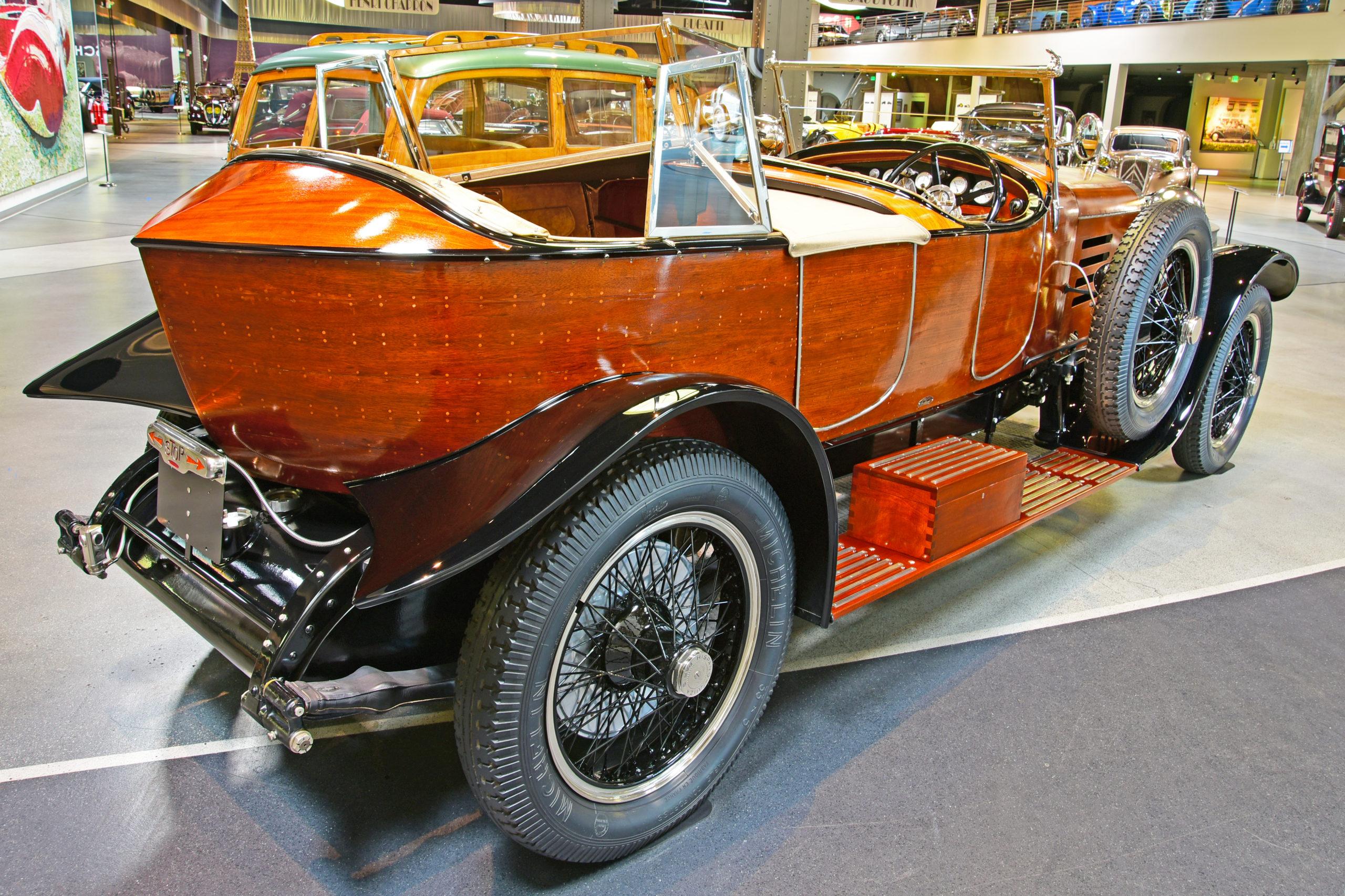 Mullin Automotive Museum - 1922 Hispano-Suiza Type H6B