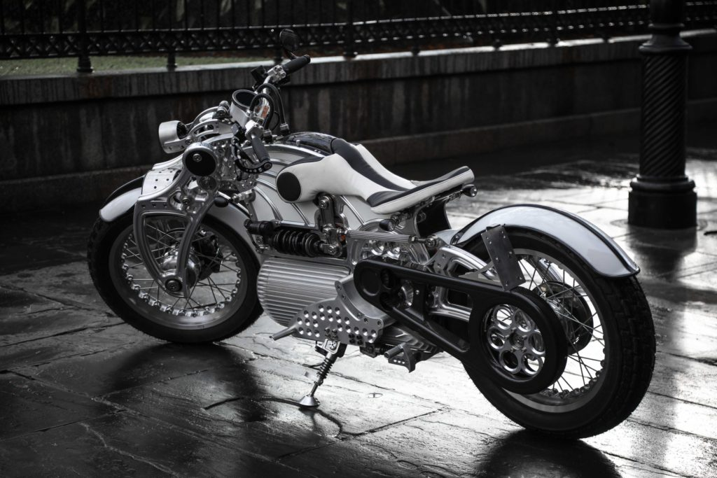 Hades electric motorcycle