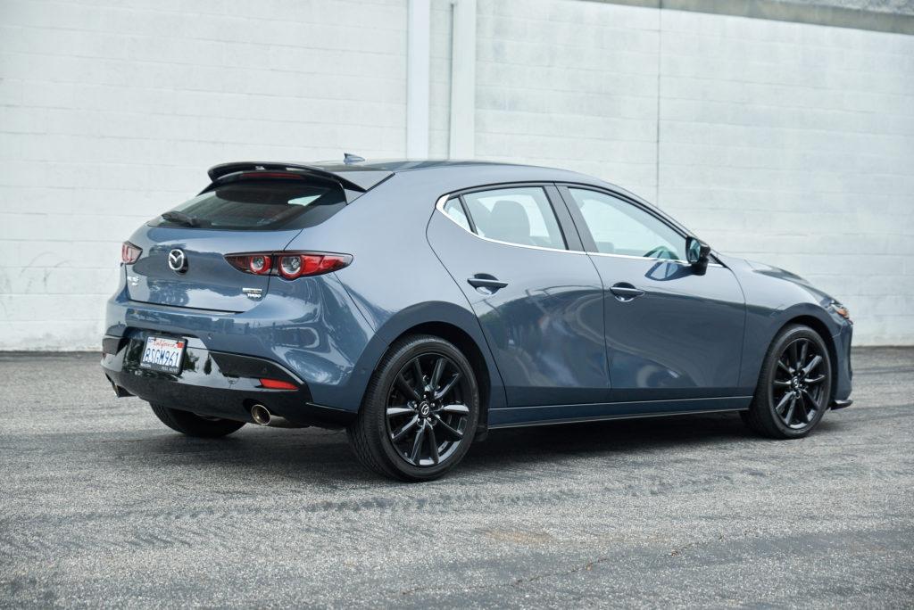 2021 Mazda3 2.5 Turbo Hatchback rear 3/4