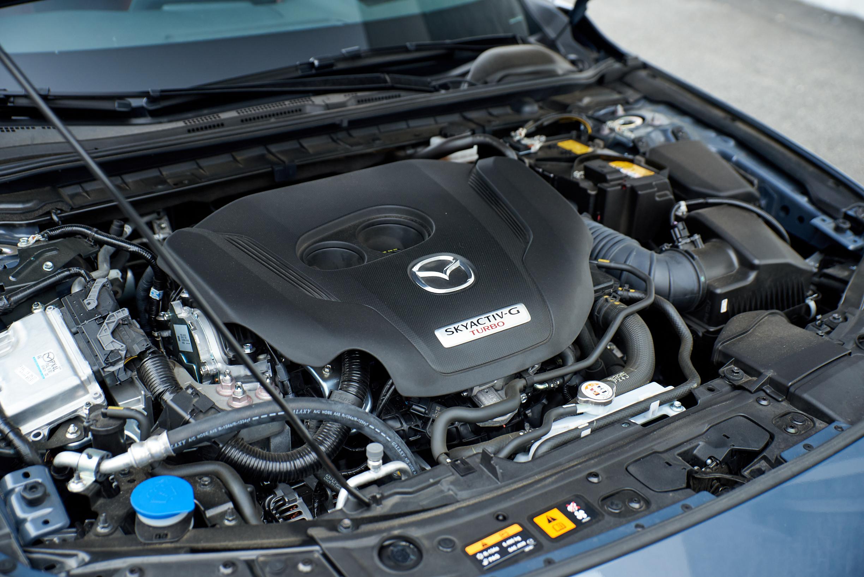 2021 Mazda 3 2.5 Turbo Hatchback Skyactiv-G turbo engine