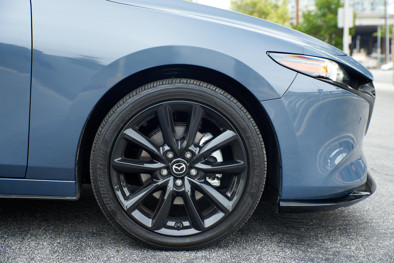 2021 Mazda 3 2.5 Turbo Hatchback Bridgestone Turanza tire