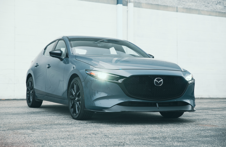 2021 Mazda3 2.5 Turbo Hatchback review - front end