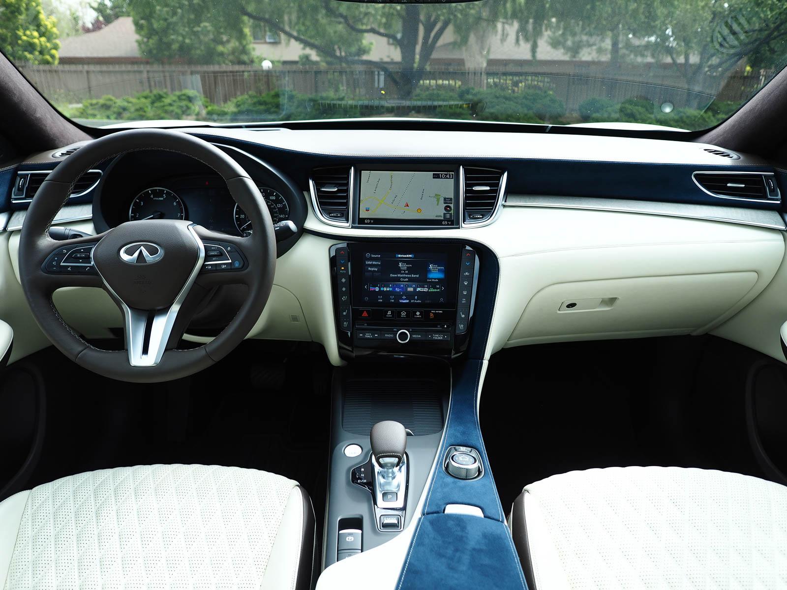interior 2021 Infiniti QX50