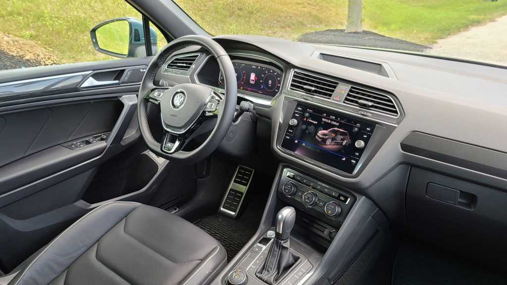 2021 Volkswagen Tiguan SEL Premium R-Line interior