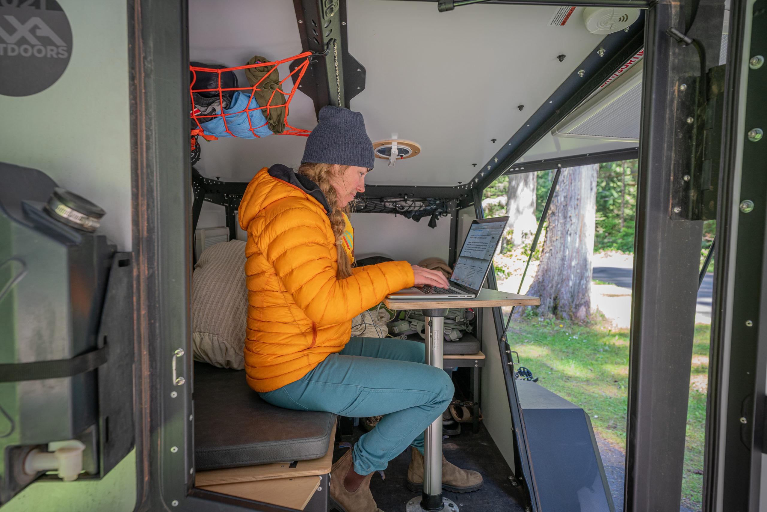 2021 Taxa Outdoors TigerMoth Overland work space