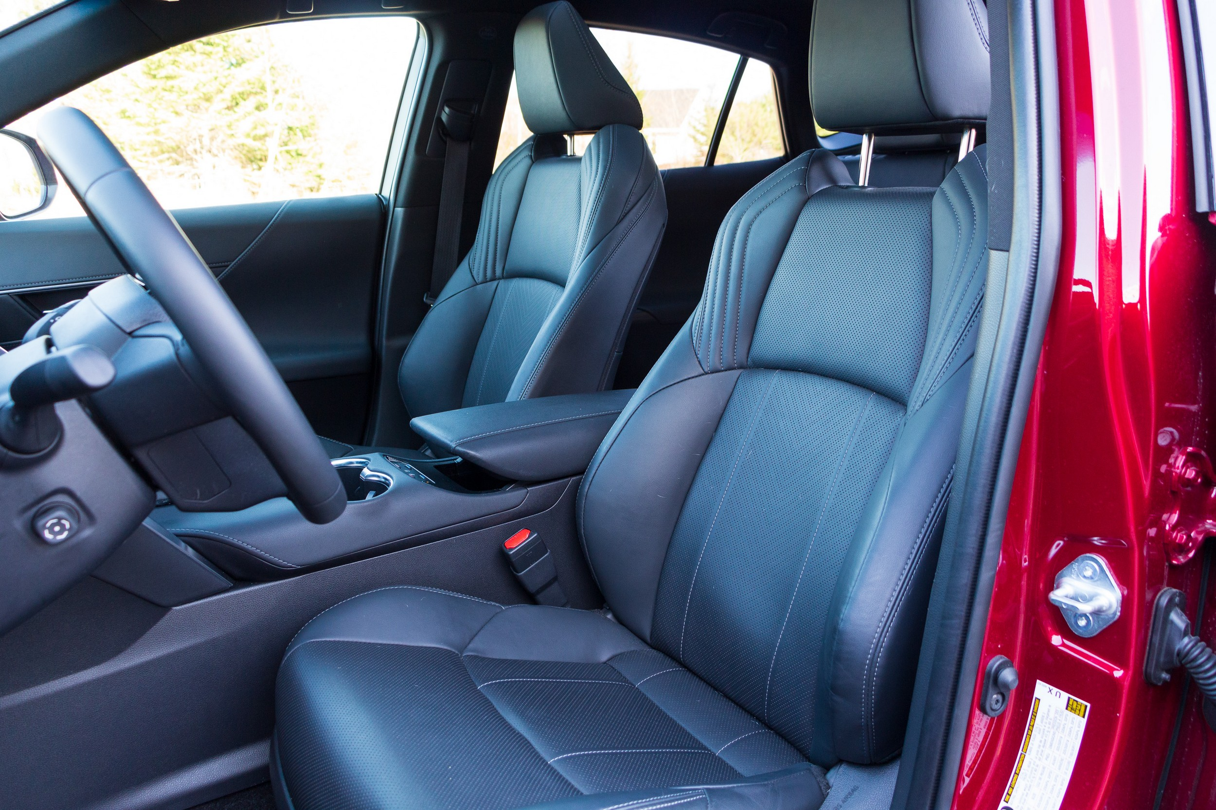 2021 Toyota Venza Limited front seats