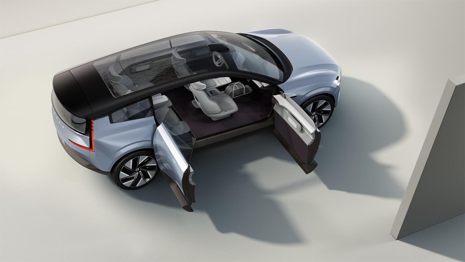 Volvo Concept Recharge Doors