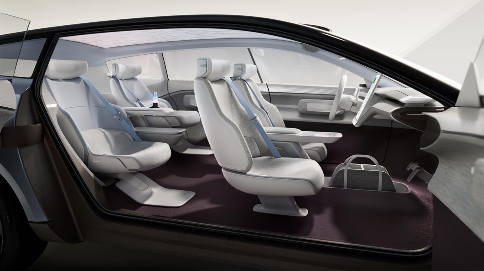 Volvo Concept Recharge Interior