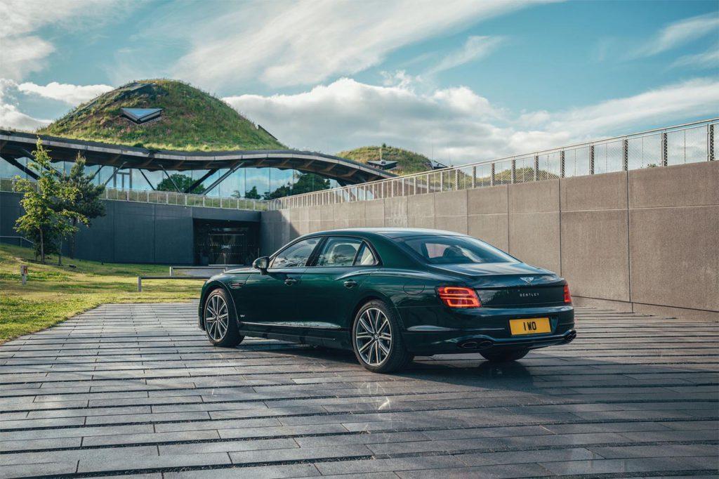 Bentley Flying Spur Hybrid Rear