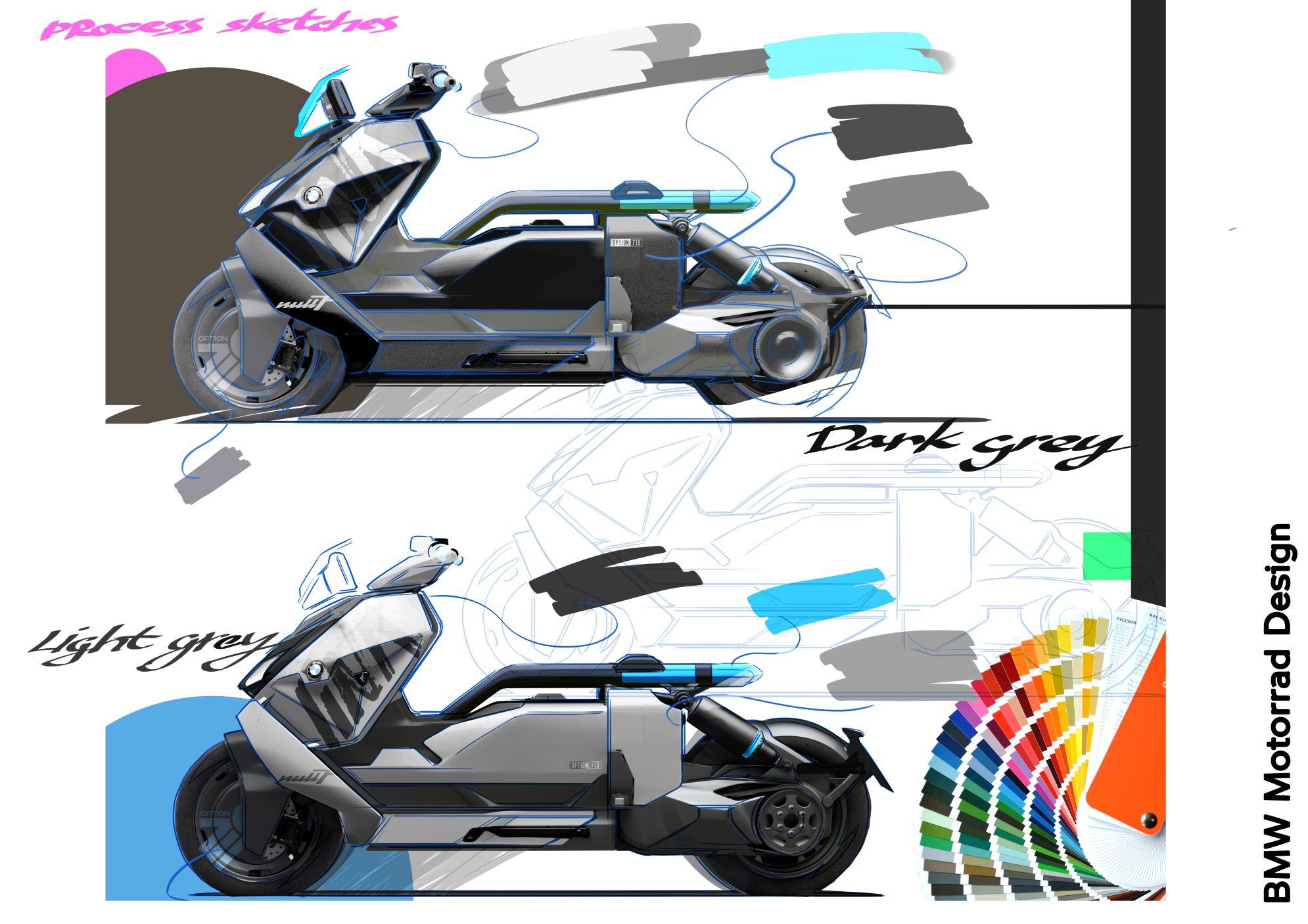 bmw ce 04 design