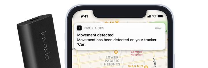 Invoxia GPS Tracker notification