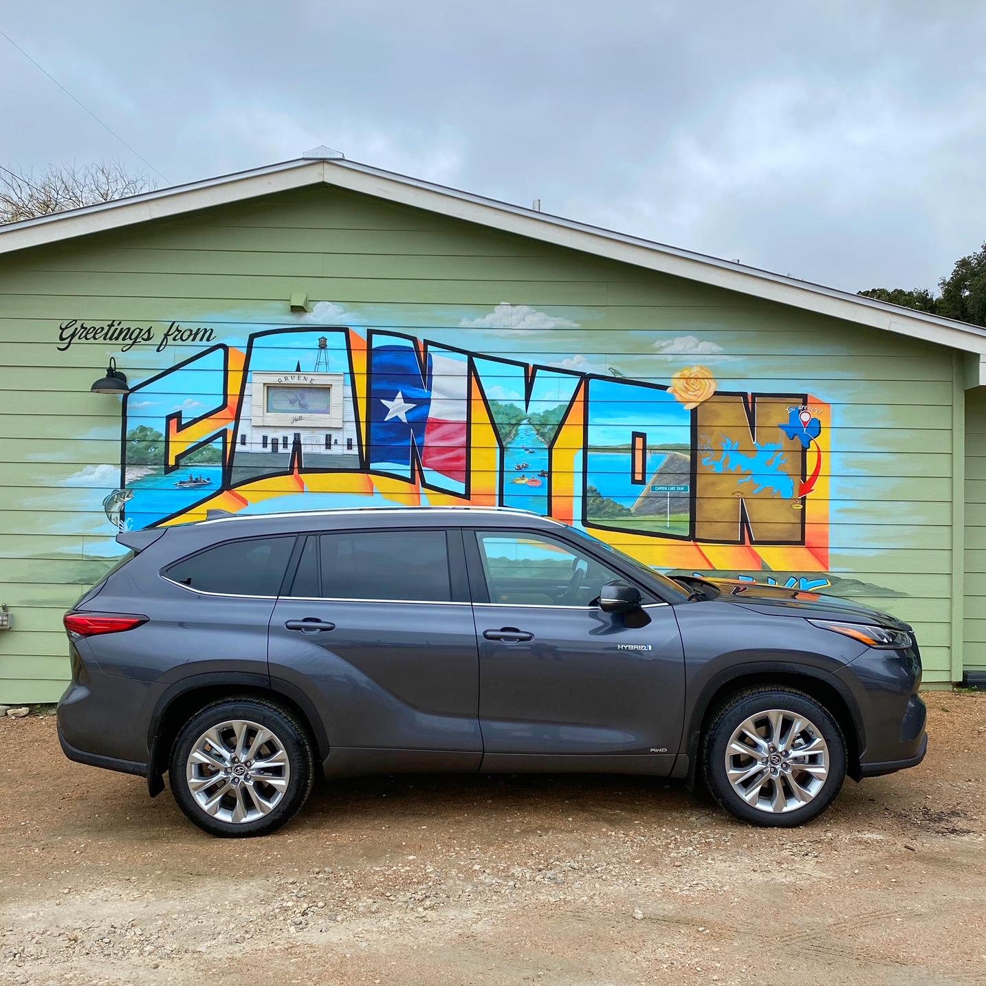 2021 Toyota Highlander exterior