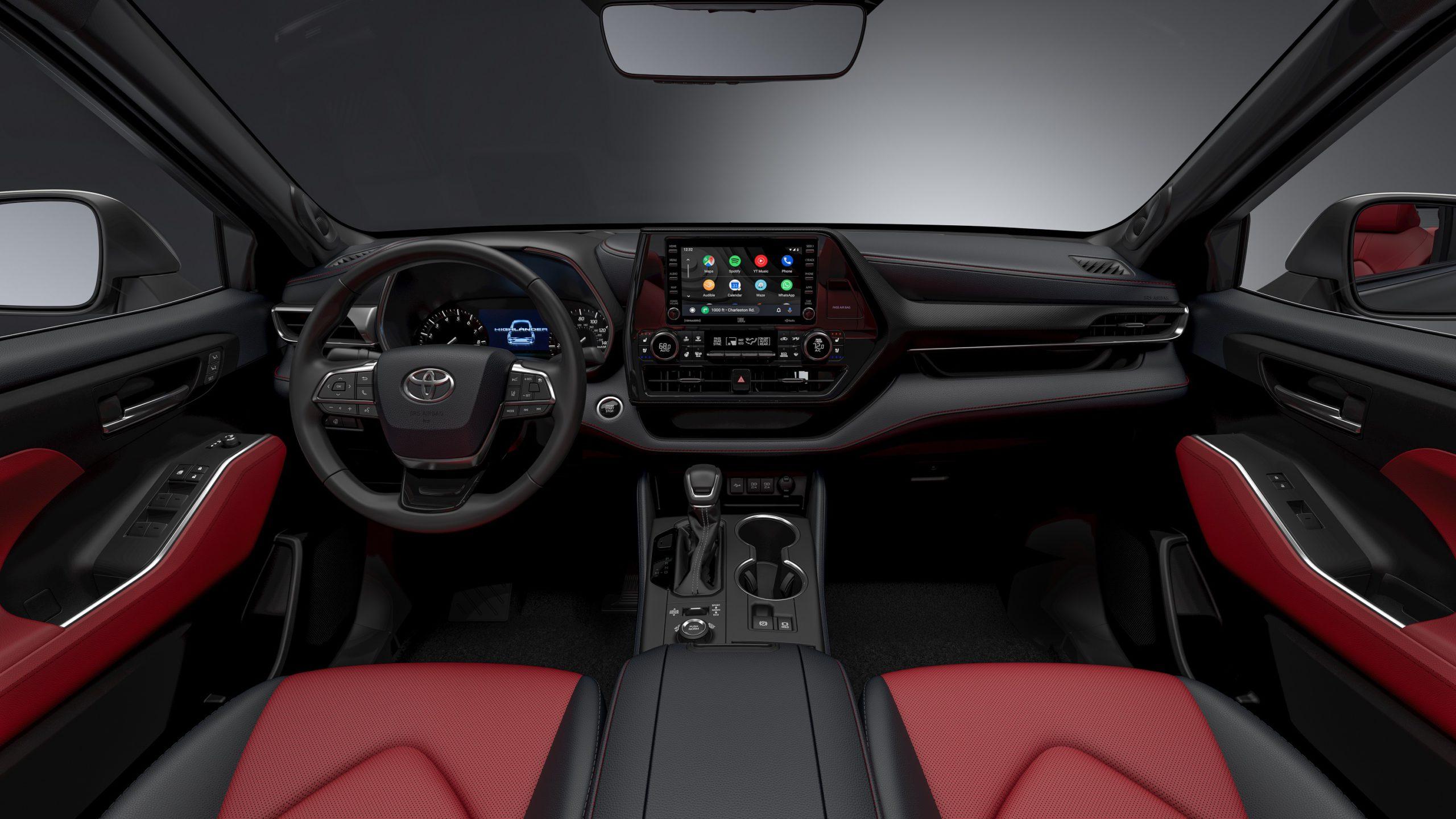 2021 Toyota Highlander XSE trim interior