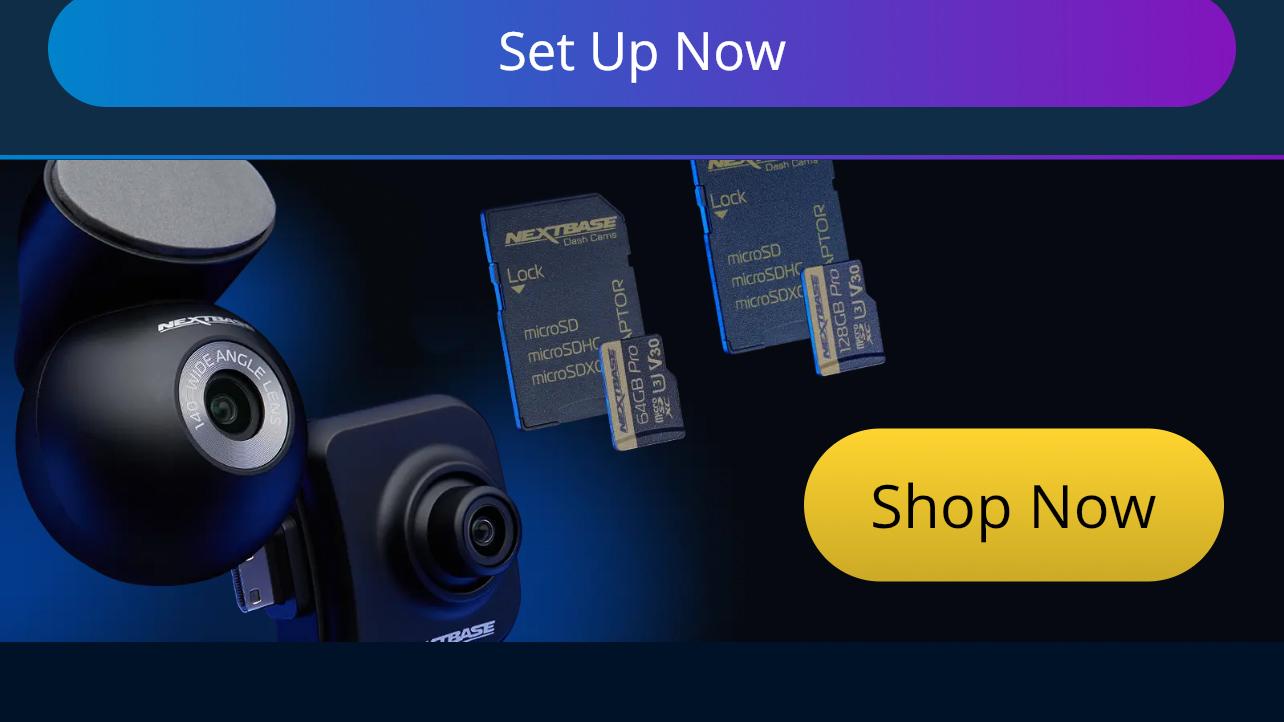 Nextbase 622GW mobile app interface