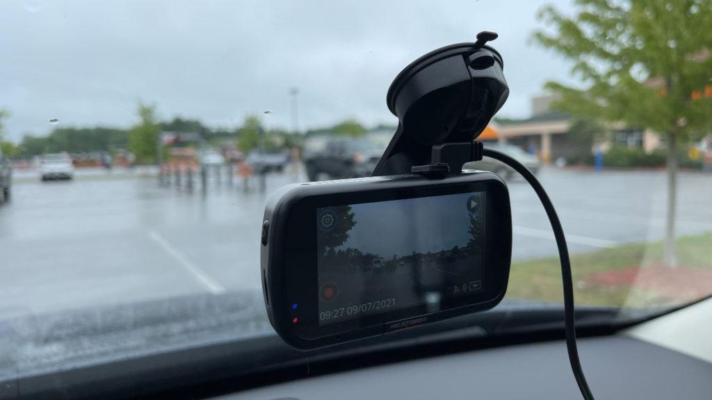 Nextbase 622GW on windshield