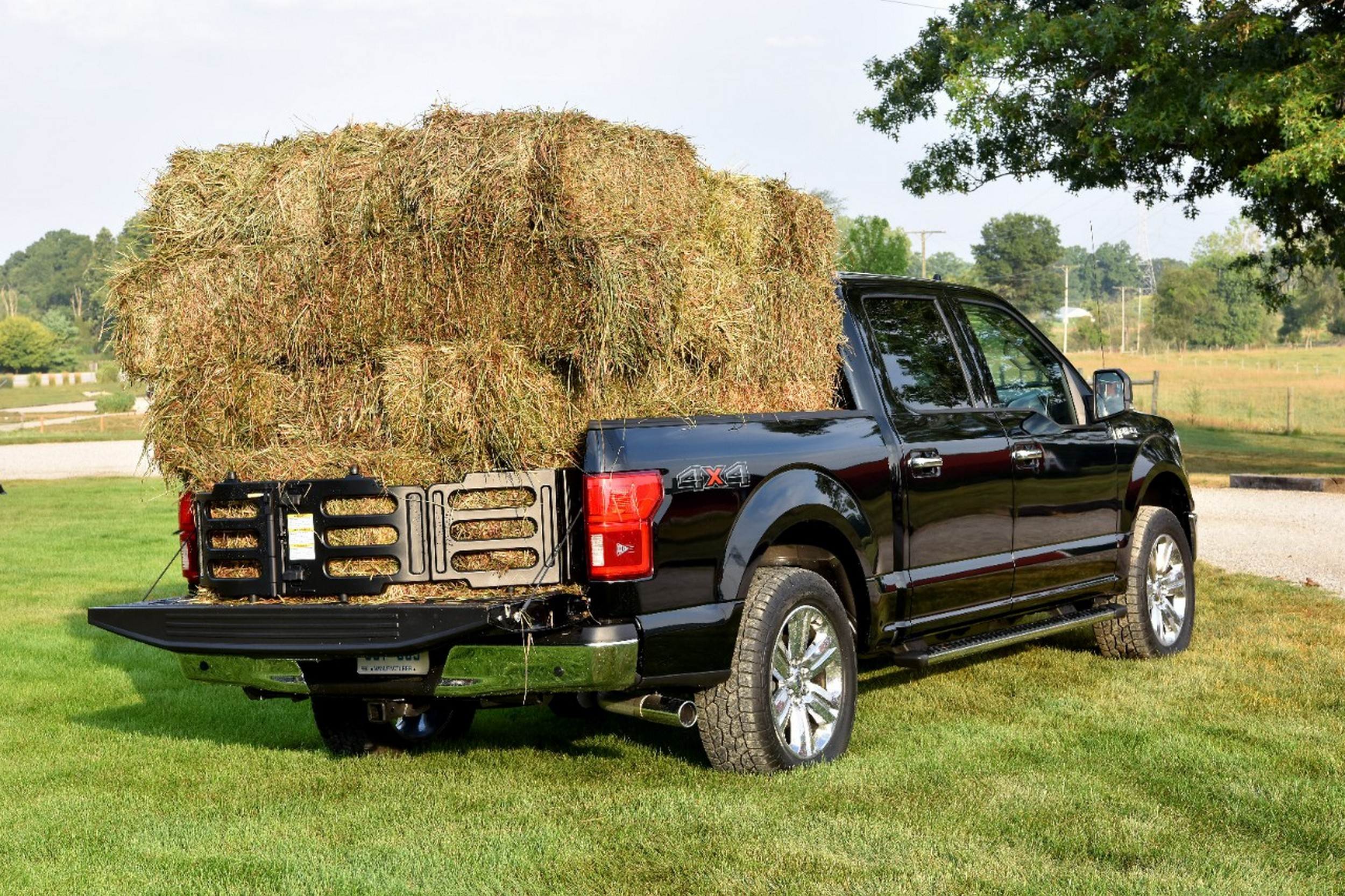 Ford F-150 common problems - pickup truck with hay bales in bed
