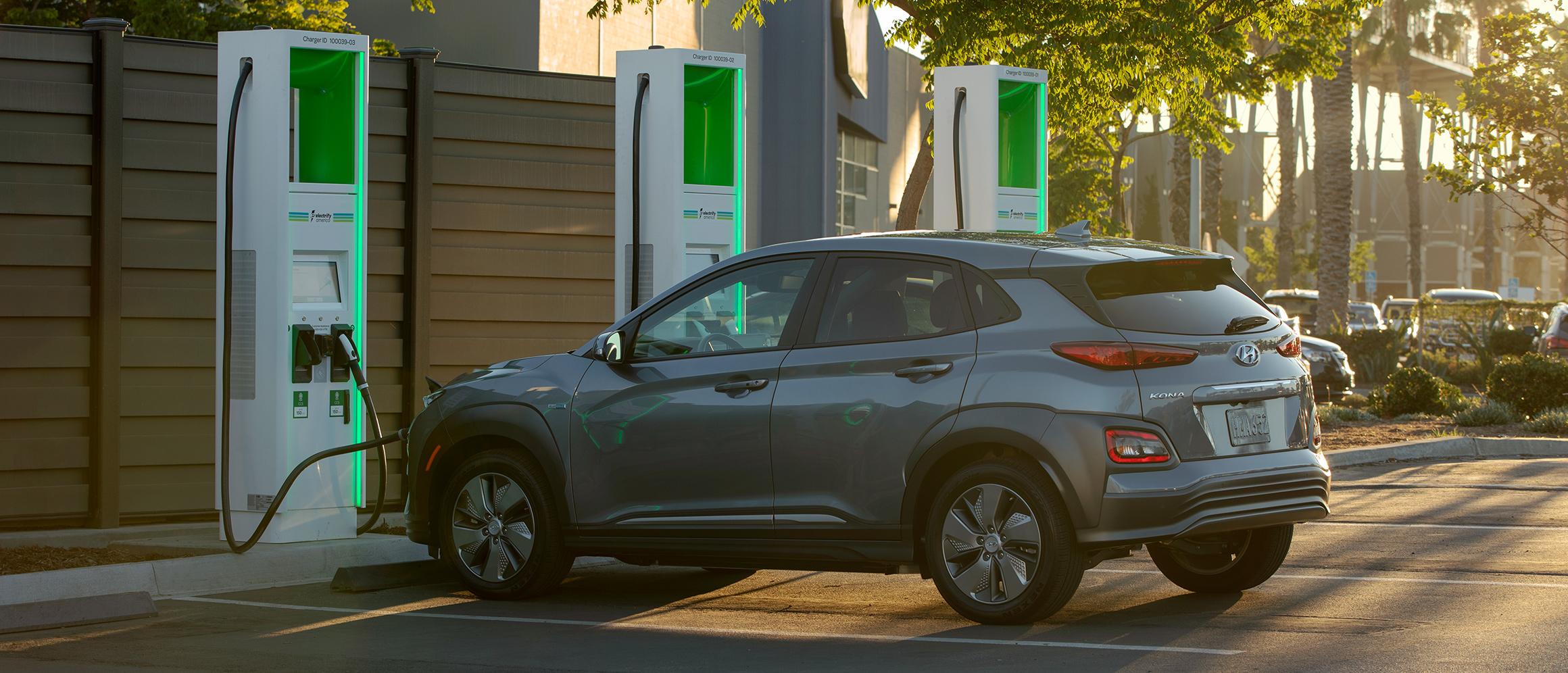 electrify america ev charging station