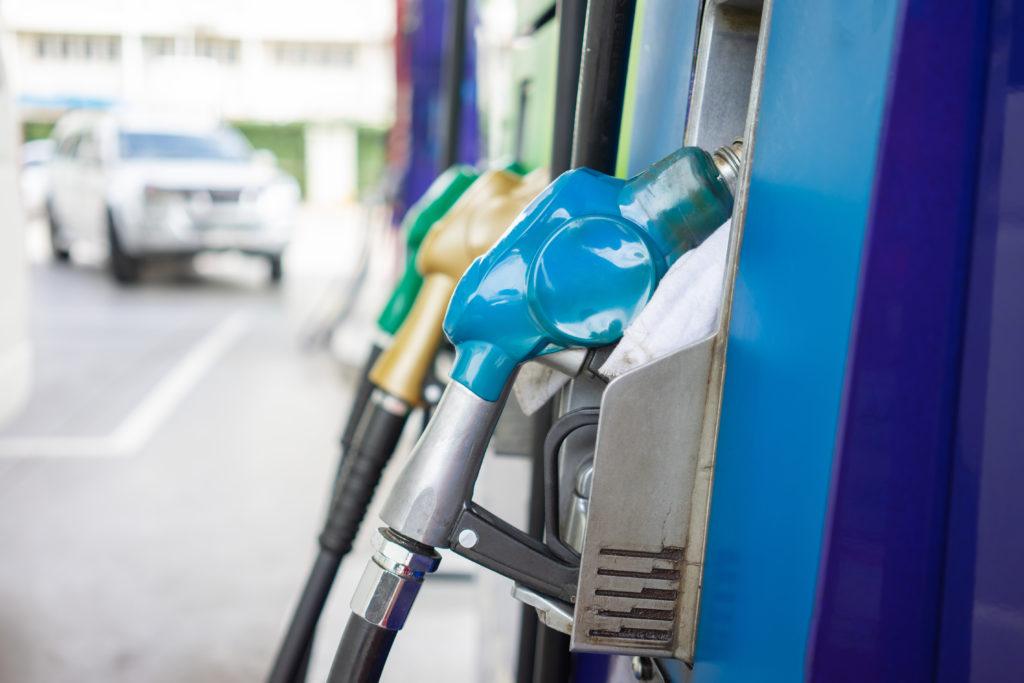 Emissions cuts: Gas fuel pumps