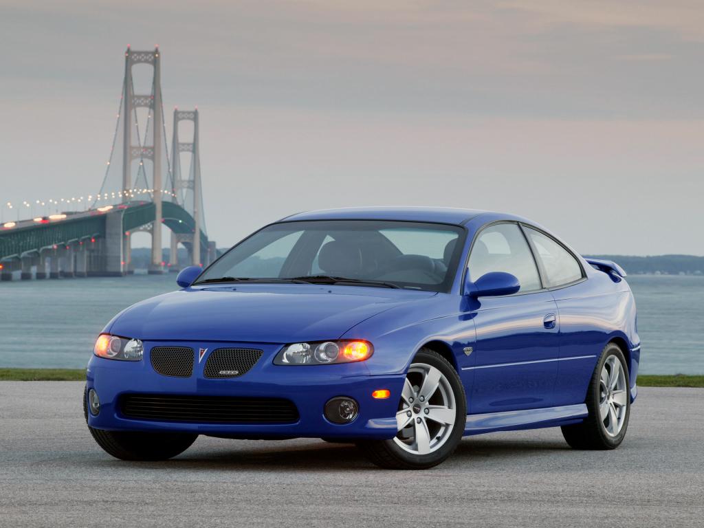 blue Pontiac GTO - future classic cars