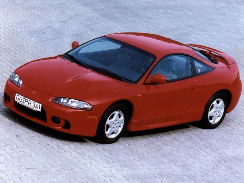 red Mitsubishi Eclipse future classics