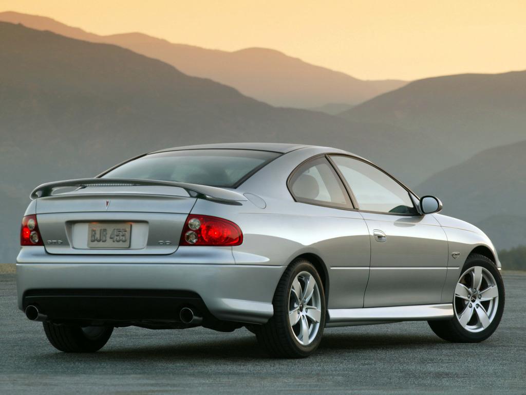 future classics: silver Pontiac GTO