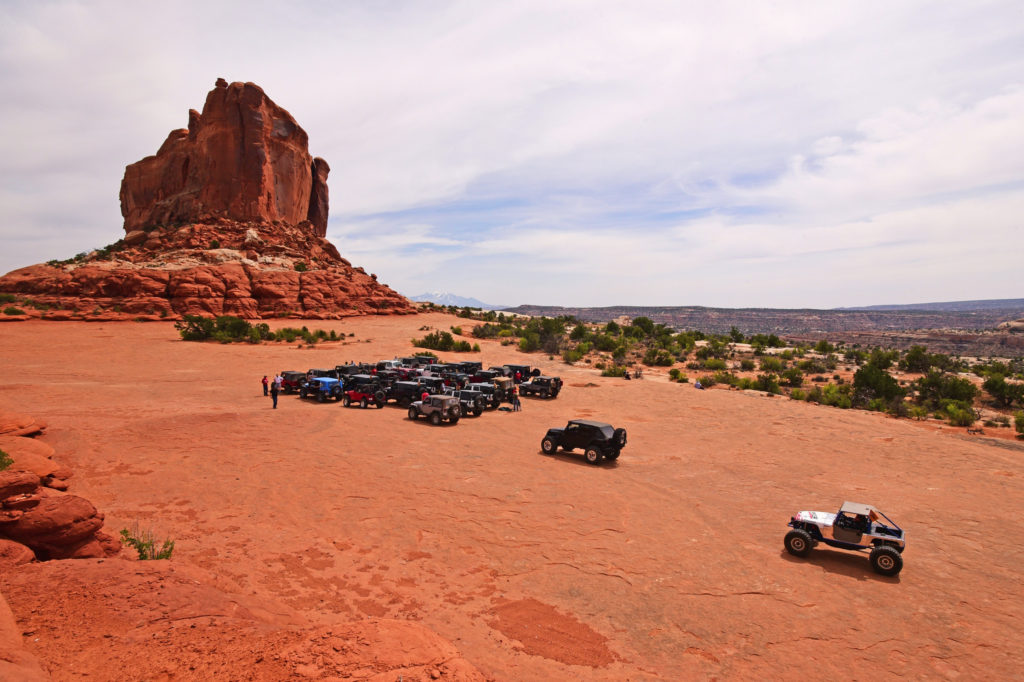 best off-road trails in Moab