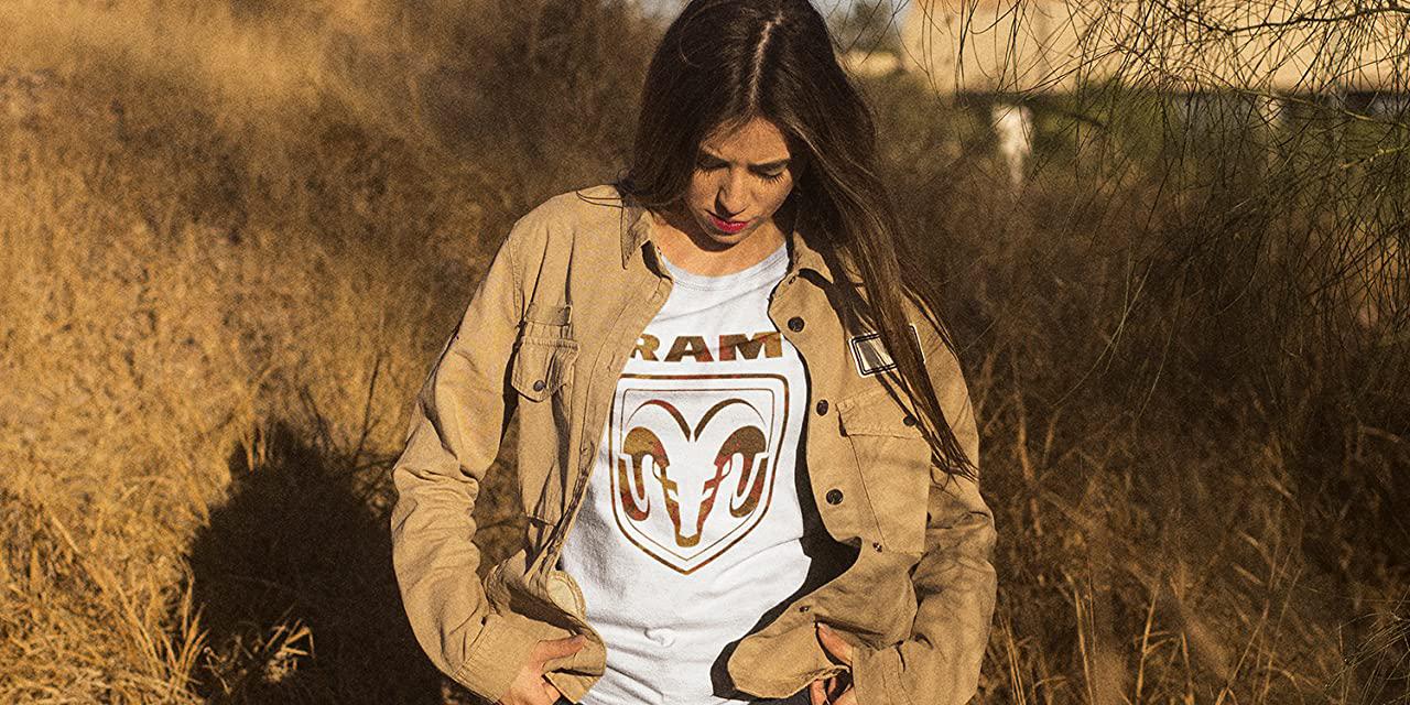 ram truck t shirt woman