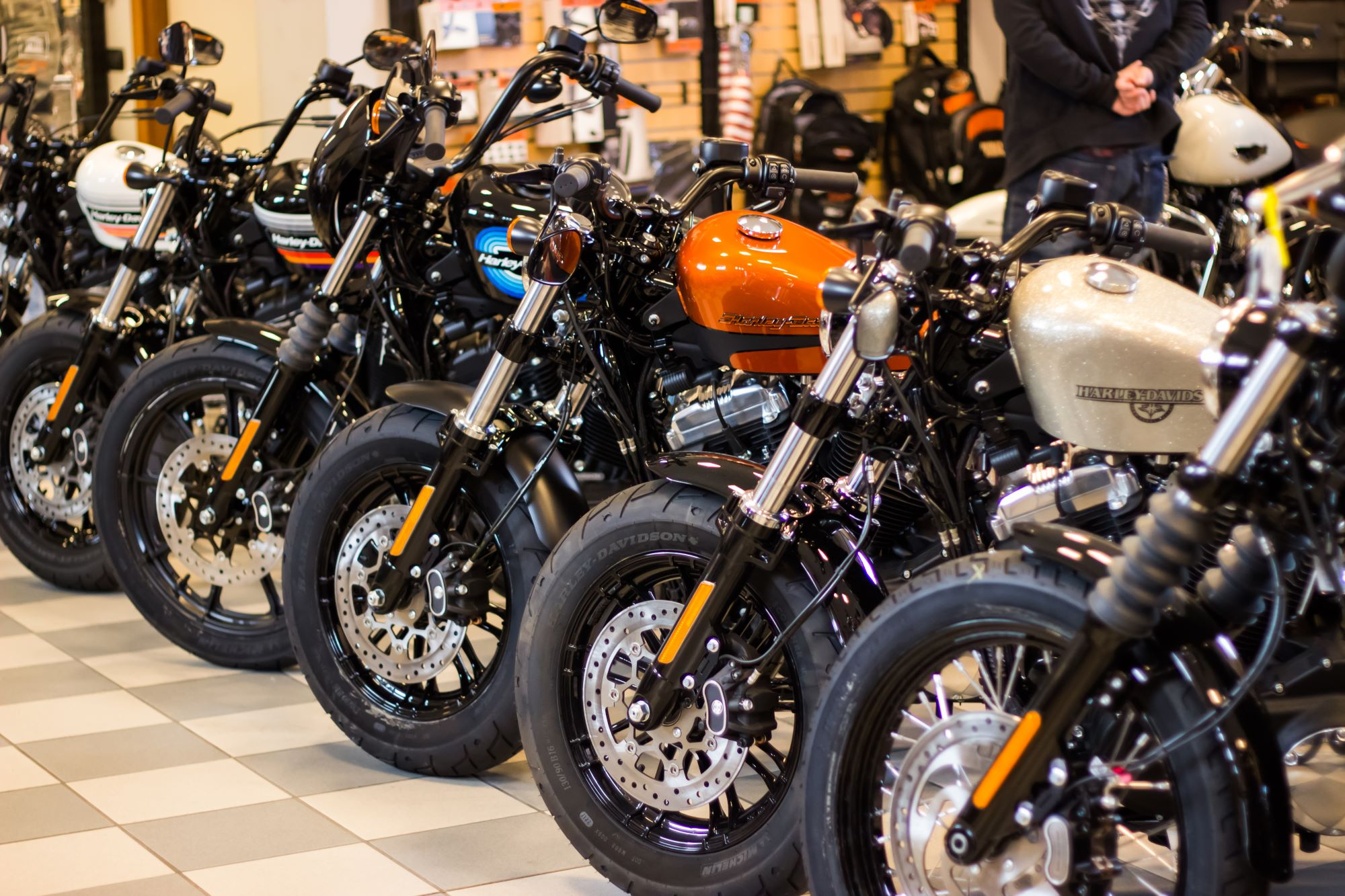 harley davidson bike lineup