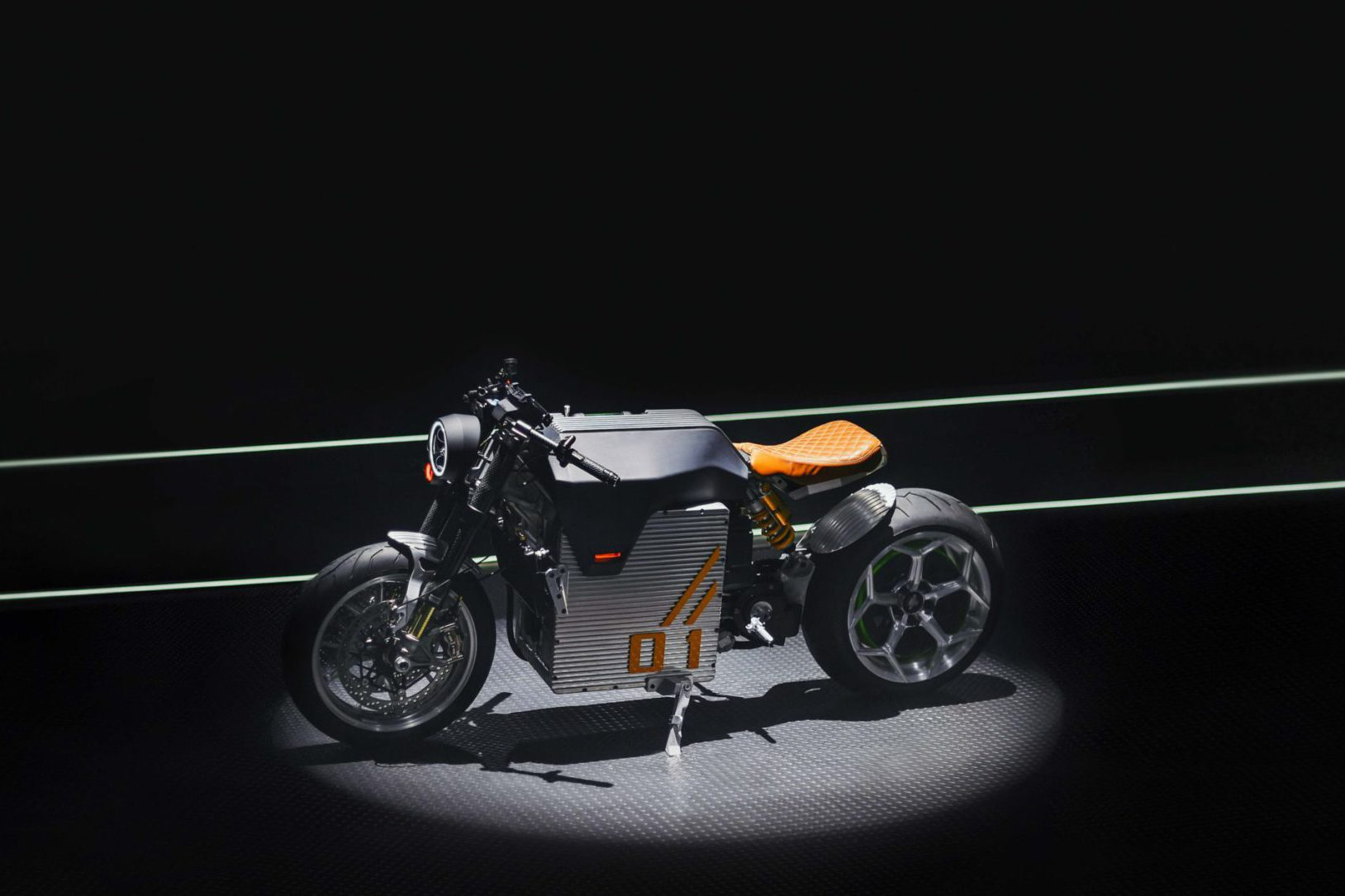 DC Classic electric cafe racer