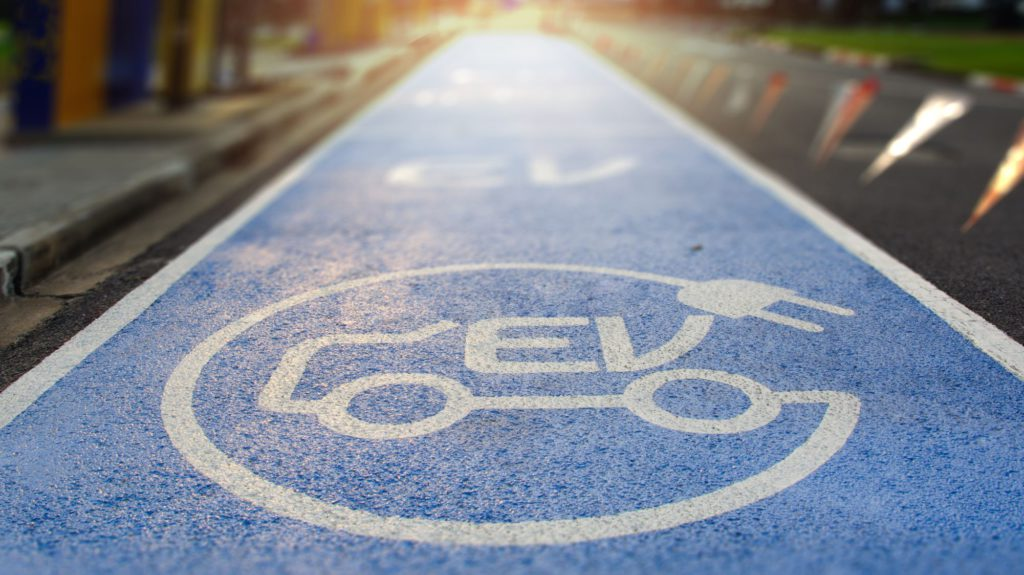 electric vehicle charging road
