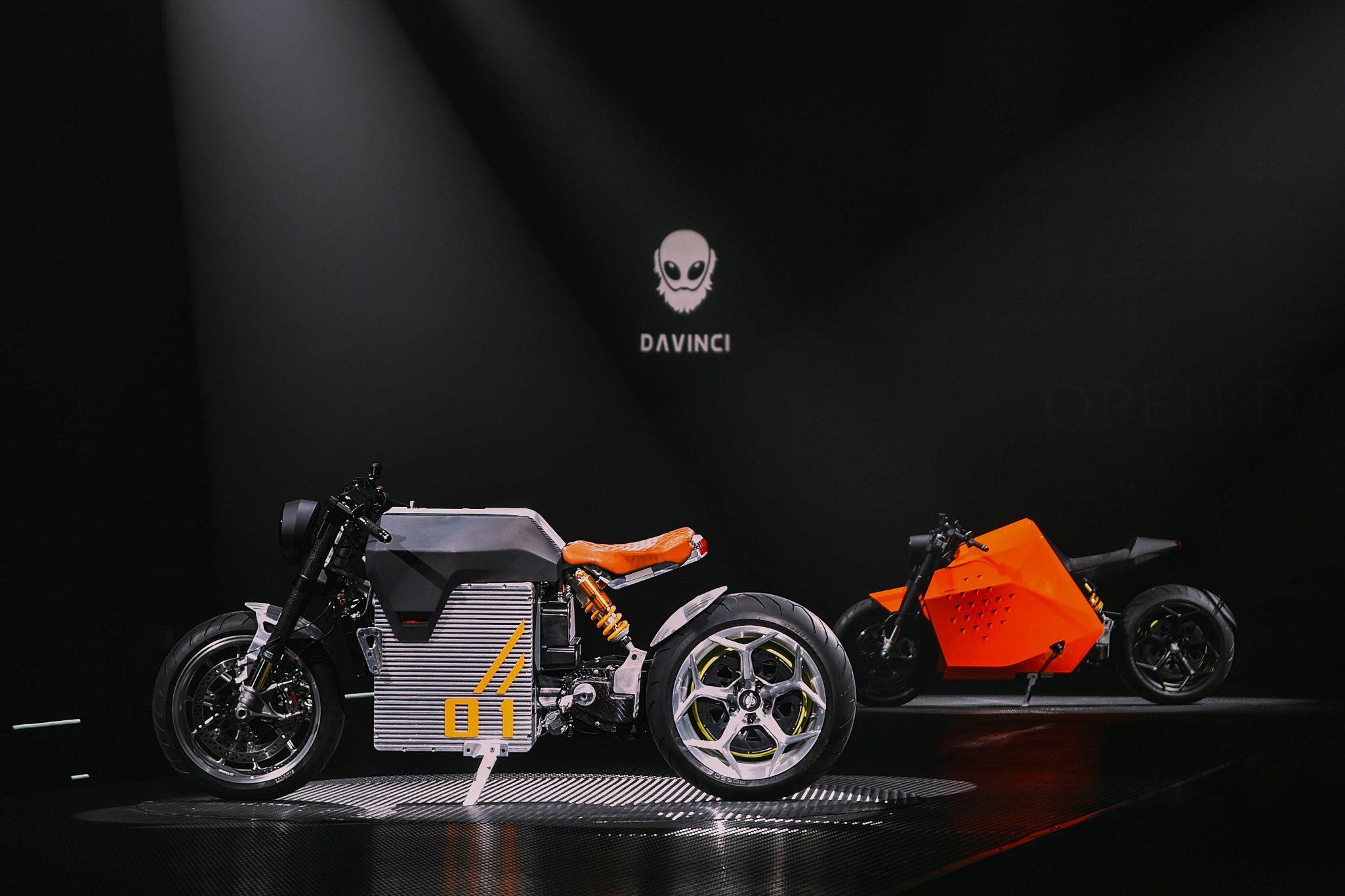 Davinci Motors Unveils High-End, All-Electric Café Racers