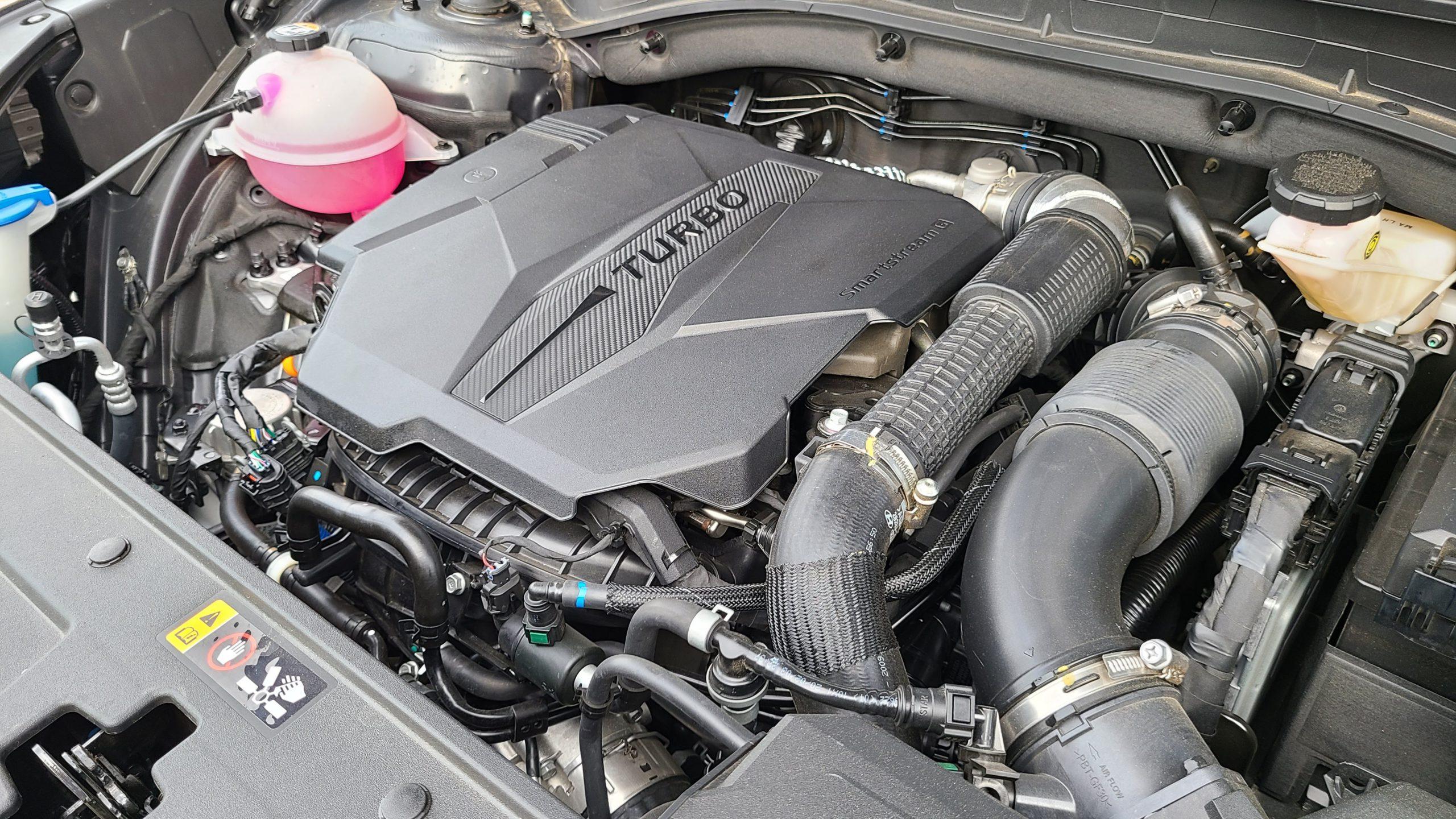 2021 Hyundai Santa Fe Calligraphy engine
