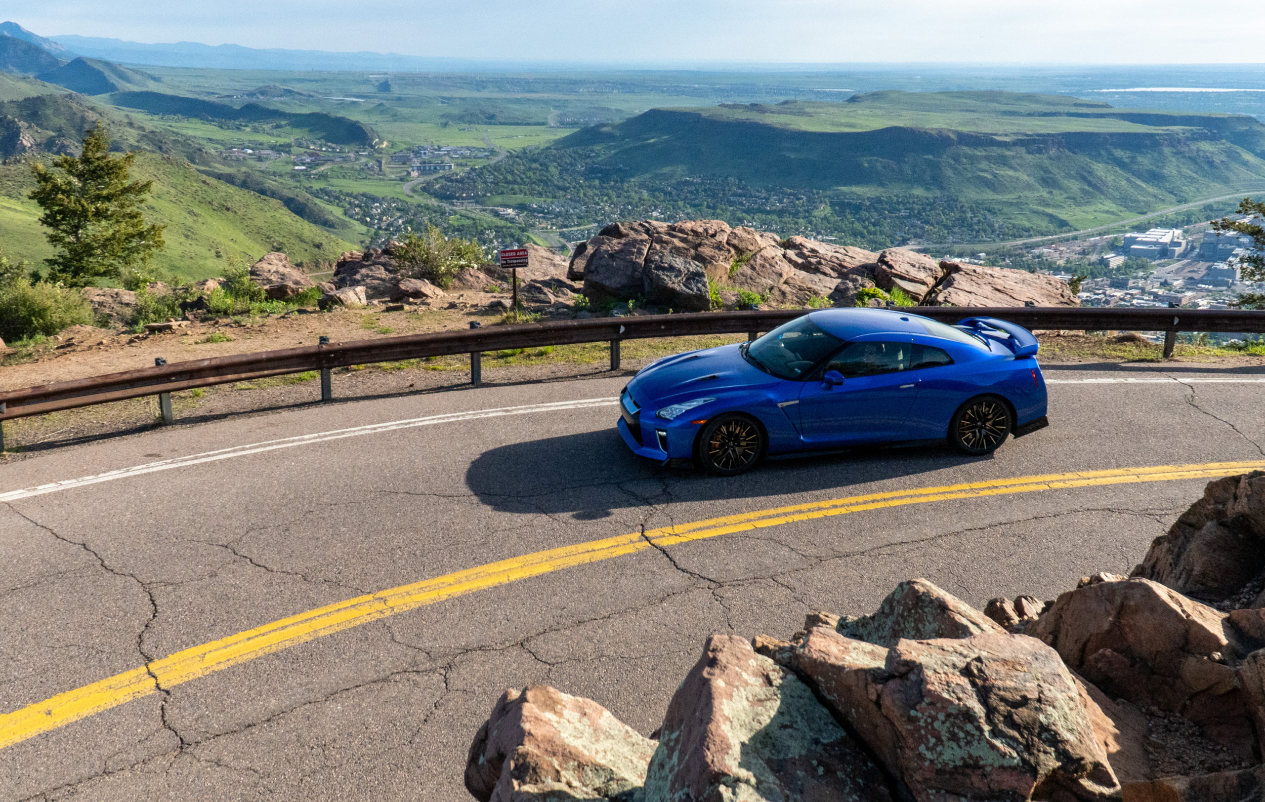 Riding the 2021 Nissan GT-R Rocket