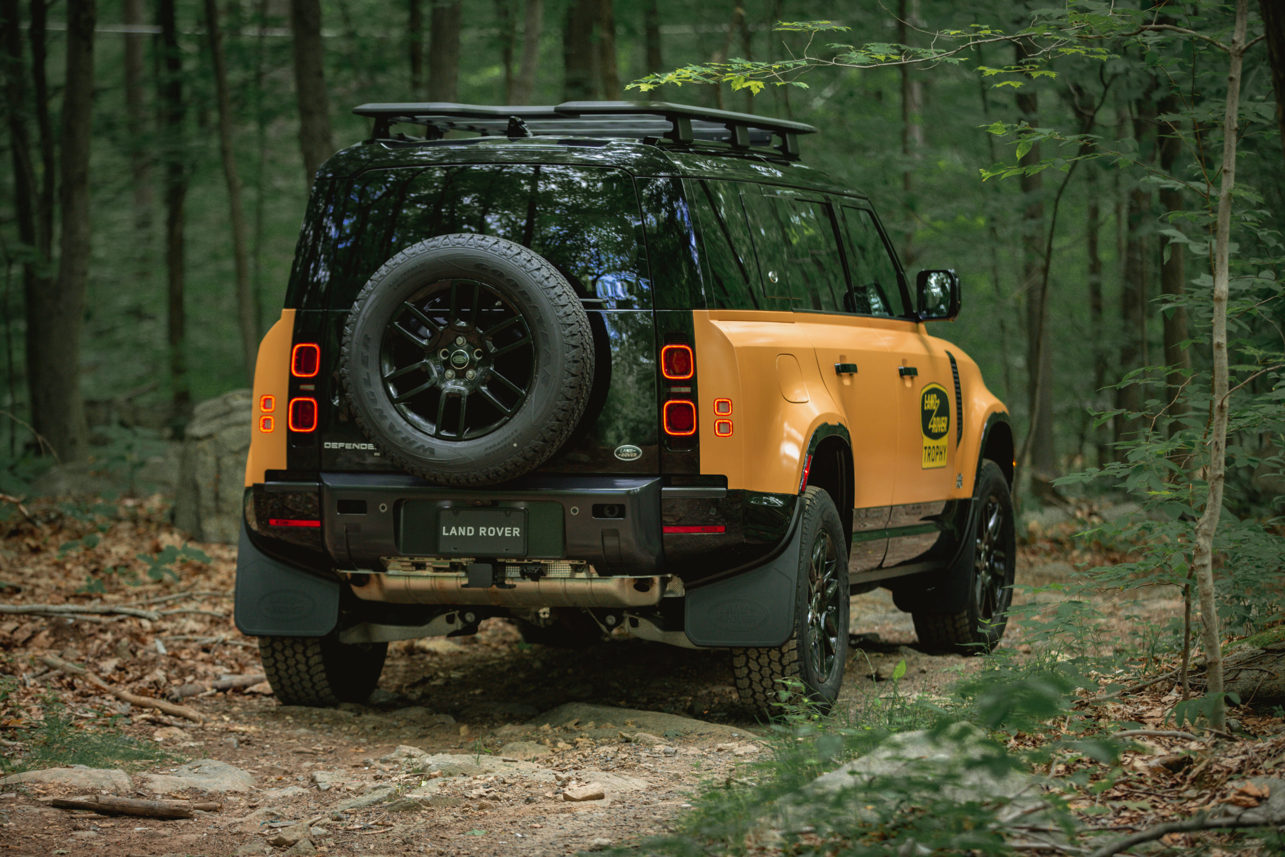 Trophy Edition Defender rear view
