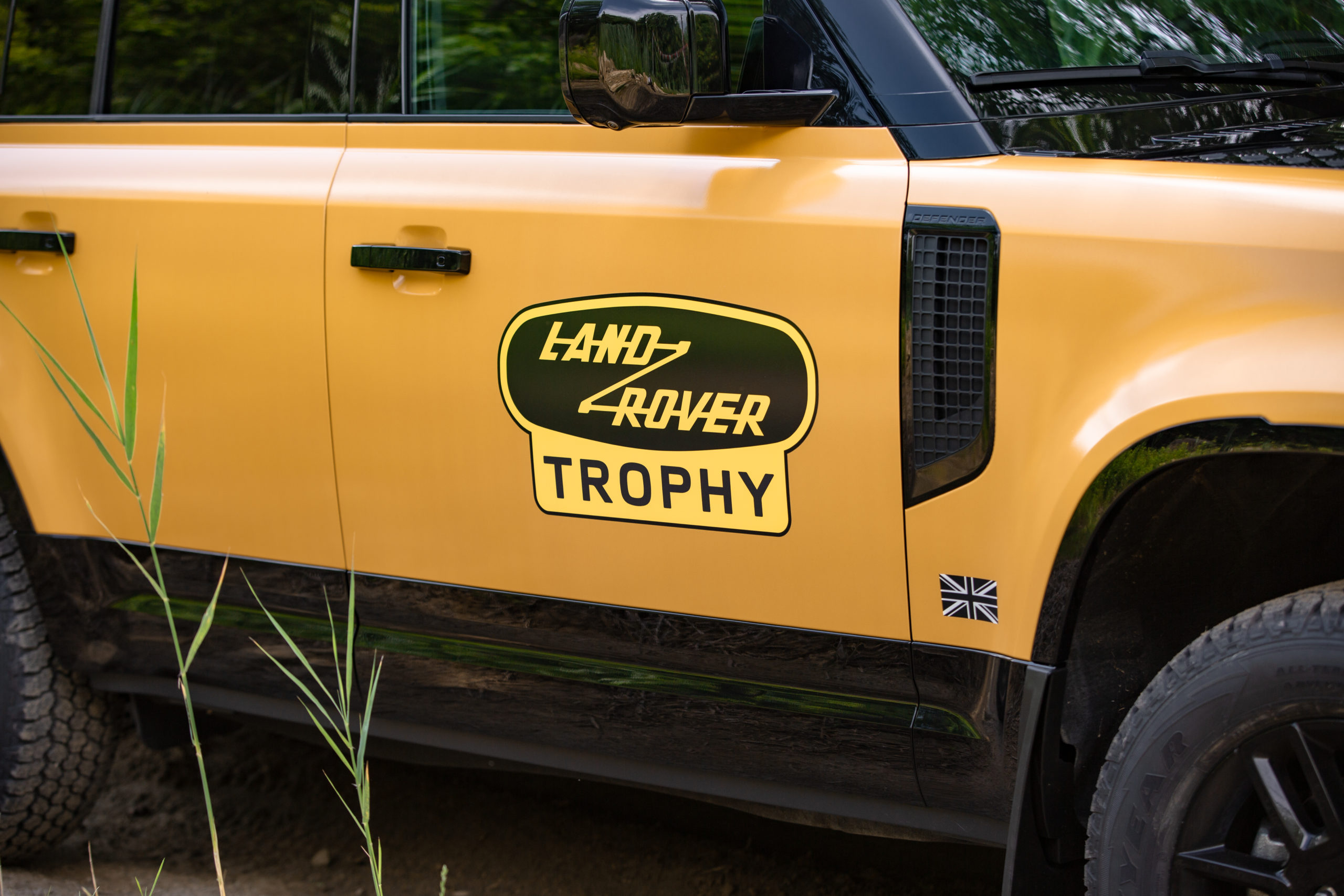 Trophy Edition Defender side view