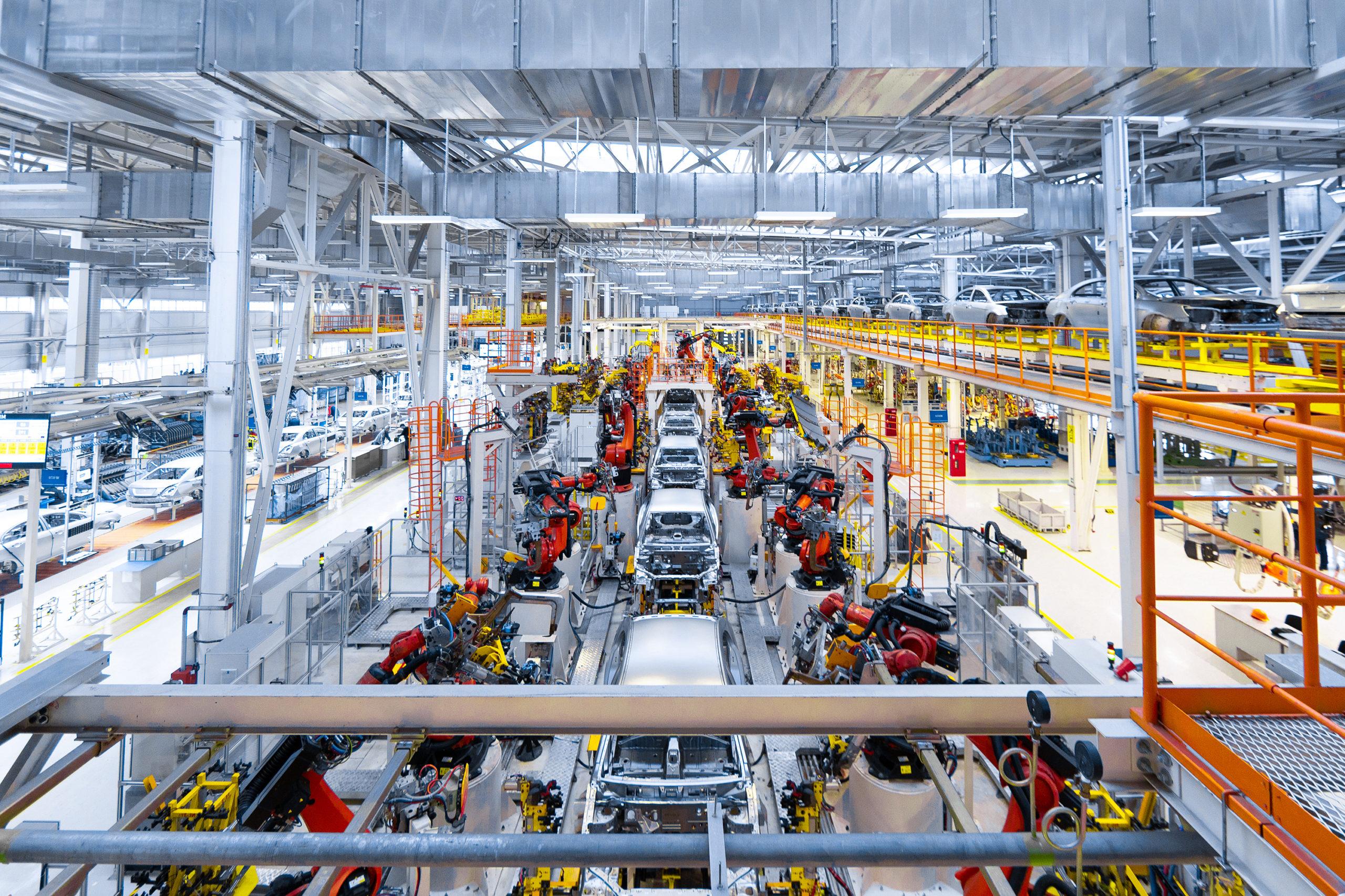automotive manufacturing plant