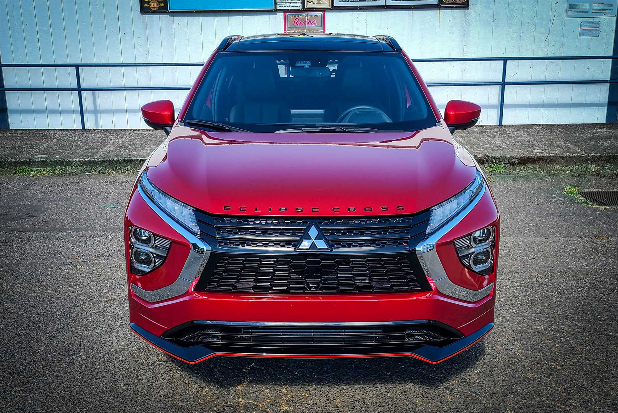 The 2022 Mitsubishi Eclipse Cross sports the company's Dynamic Shield front end.