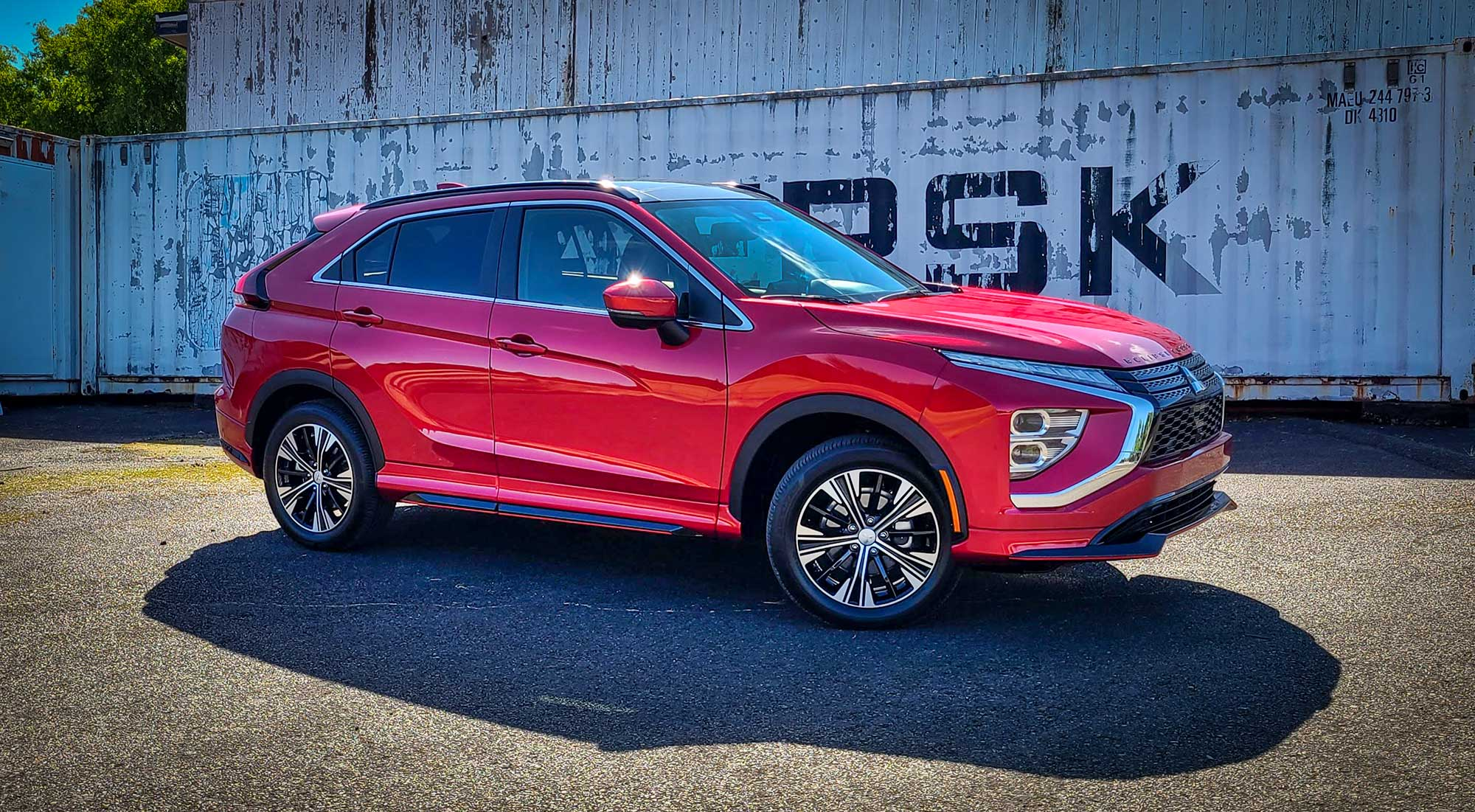 Restyled 2022 Mitsubishi Eclipse Cross SEL in Red Diamond