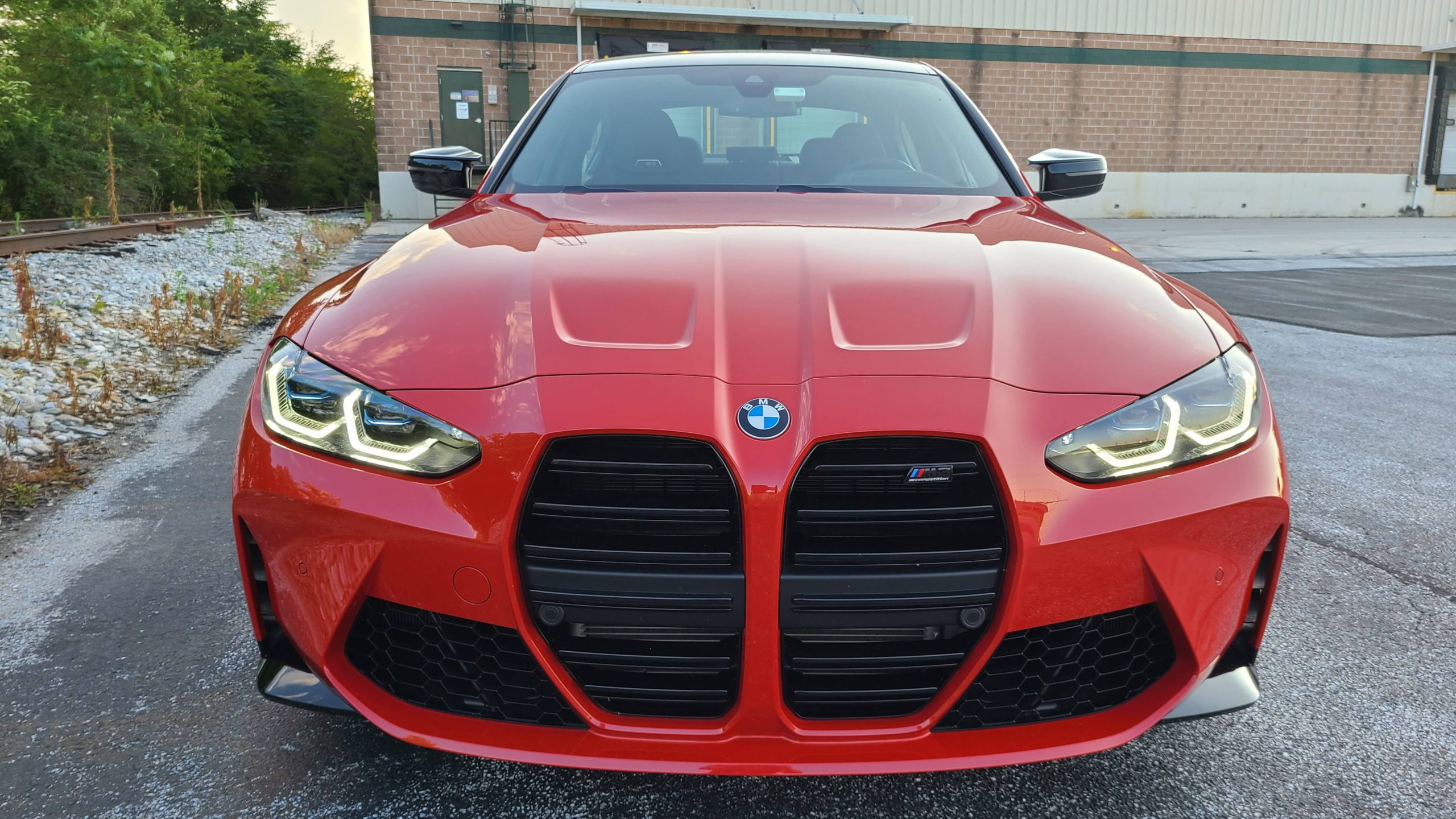 2021 BMW M3 Competition front grille