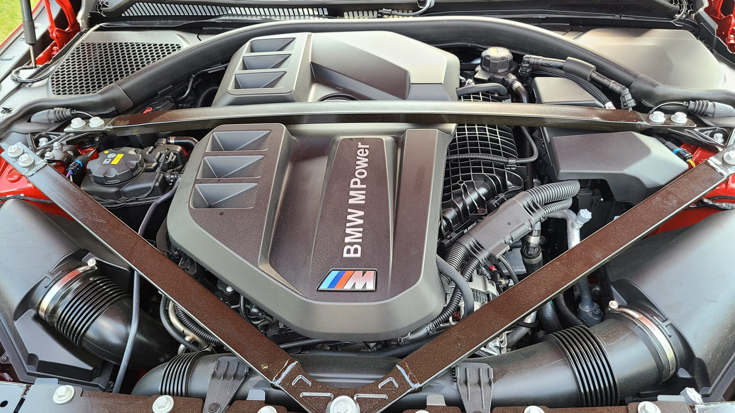 2021 BMW M3 Competition engine