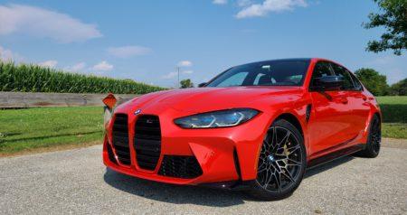 2021 BMW M3 Competition exterior front